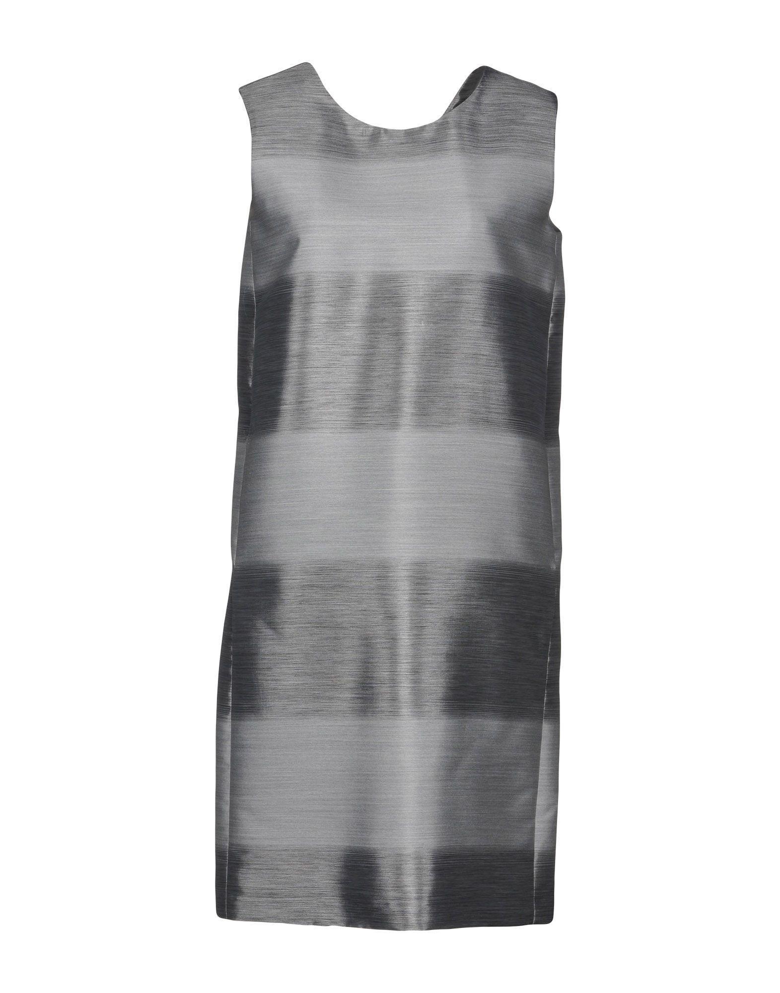 Brian Dales Short Dresses In Grey