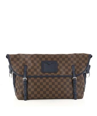 Louis Vuitton Pre-owned: Besace Messenger Damier In Brown