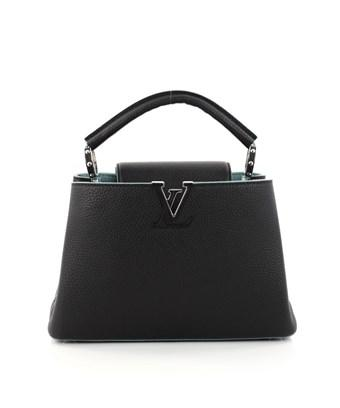 Louis Vuitton Pre-owned: Capucines Handbag Leather Bb In Black
