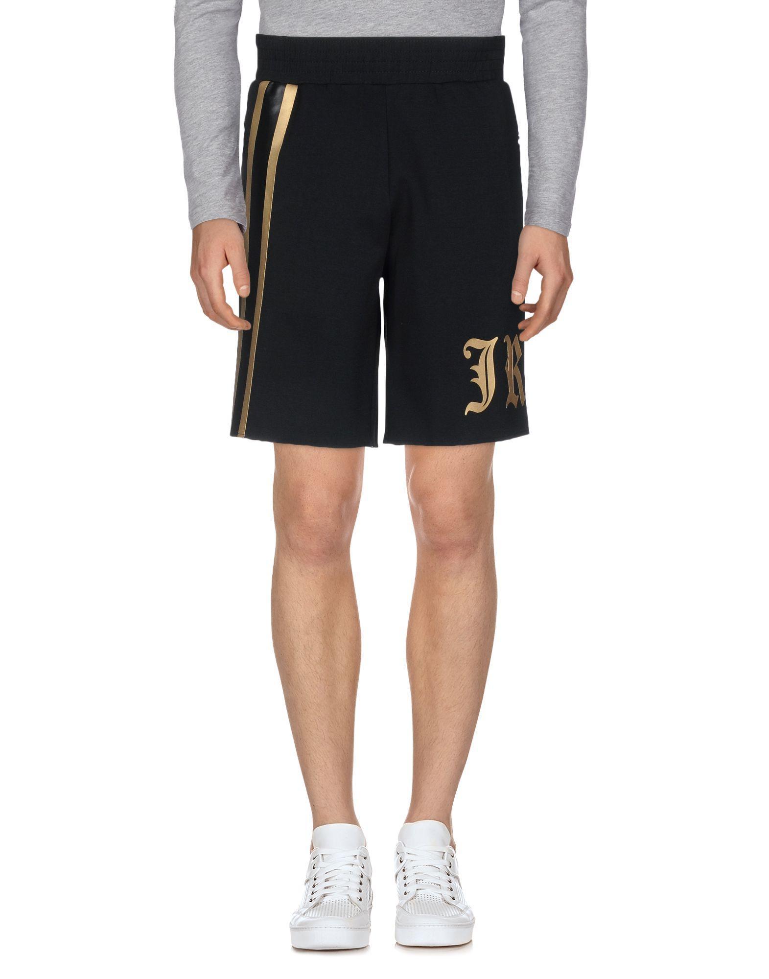 John Richmond Shorts & Bermuda In Black