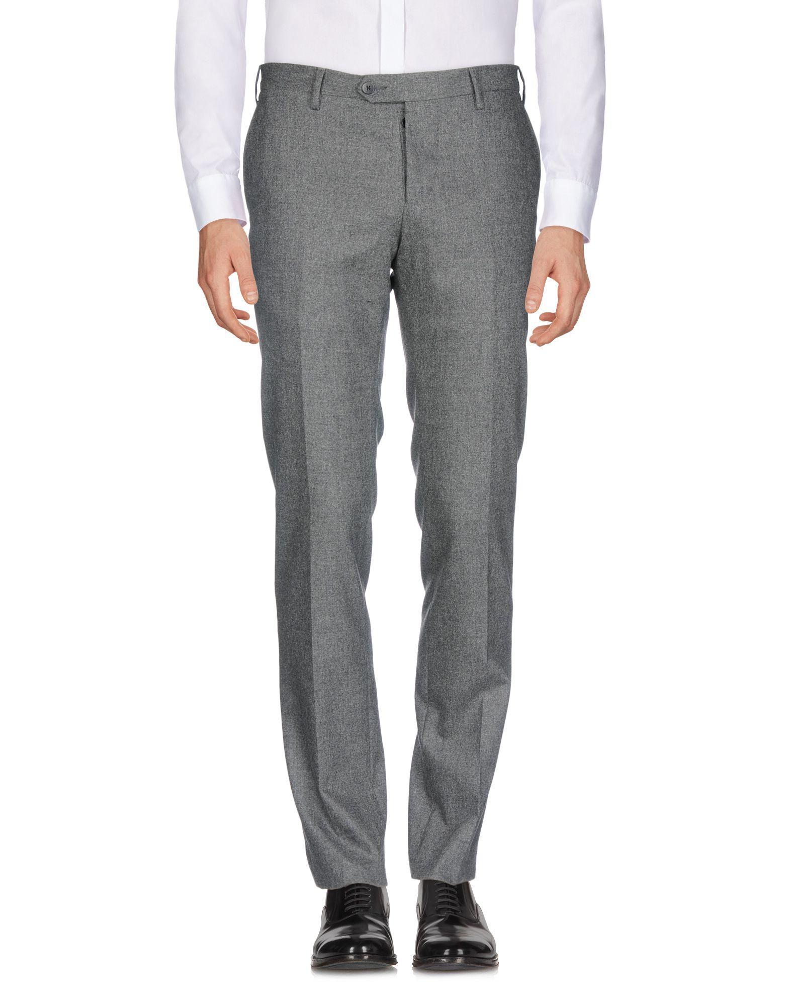 Marco Pescarolo Casual Pants In Steel Grey