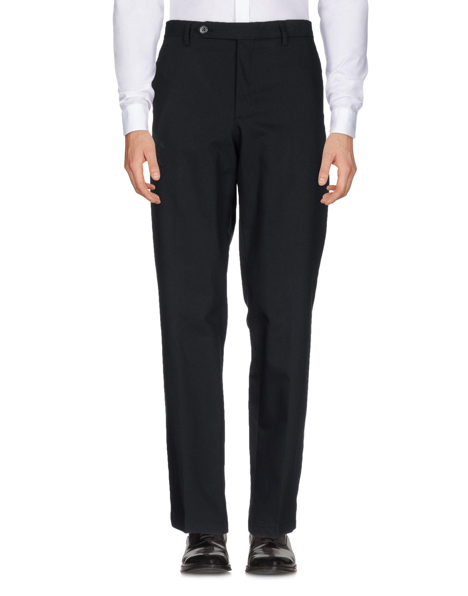 Canali Casual Pants In Black