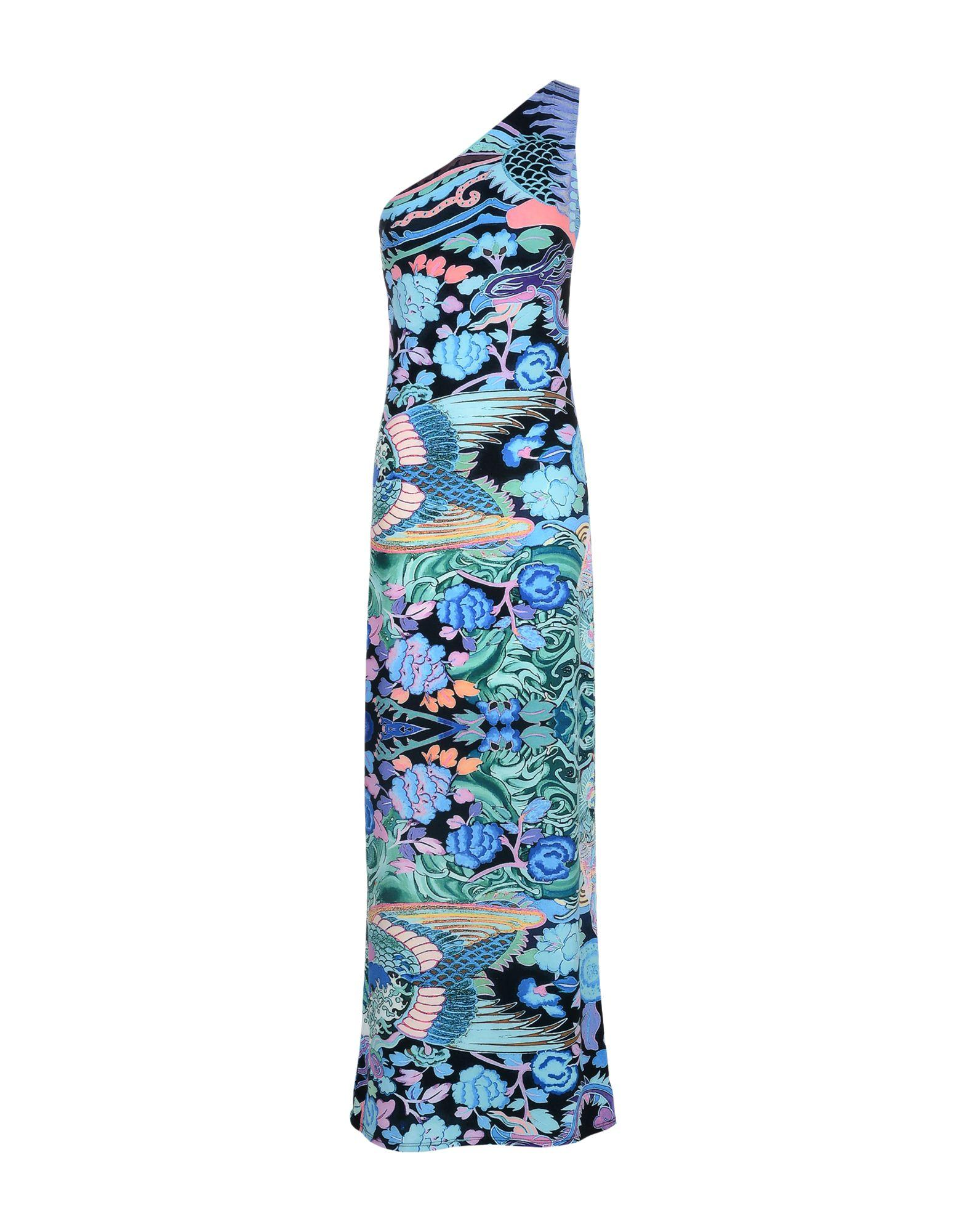 Hale Bob Long Dresses In Turquoise