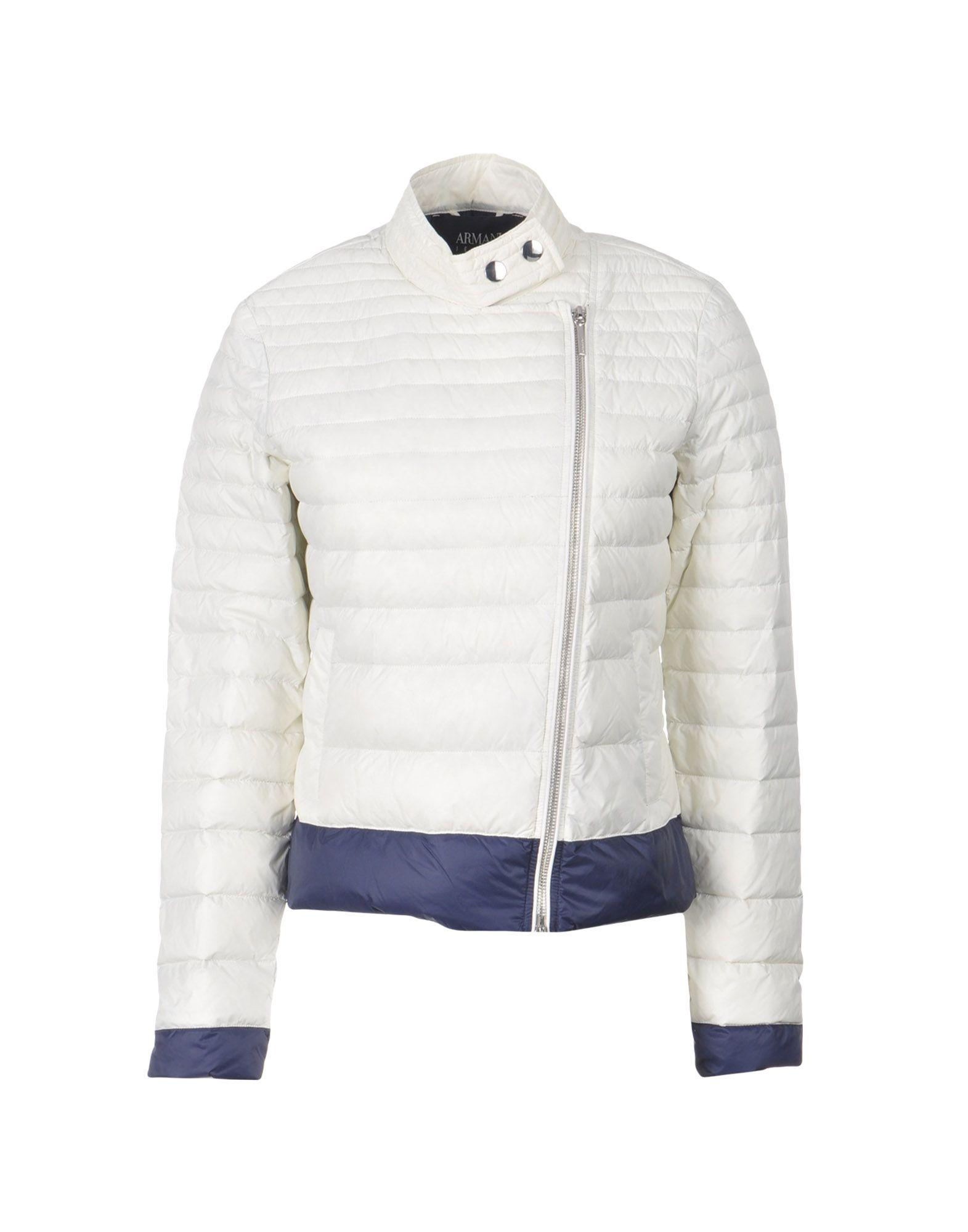 Armani Jeans Down Jackets In White