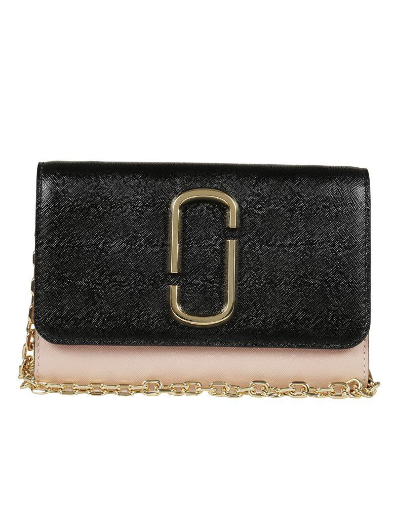 Marc Jacobs Snapshot Chain Continental Wallet In Multicolour