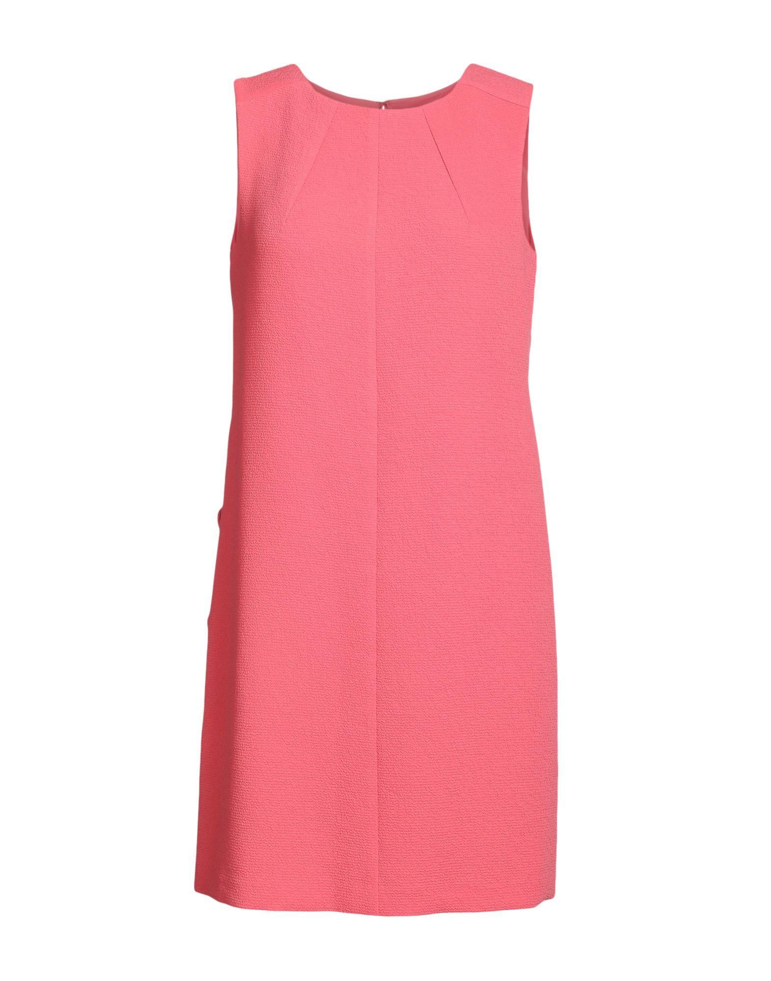Armani Jeans Short Dress In Coral