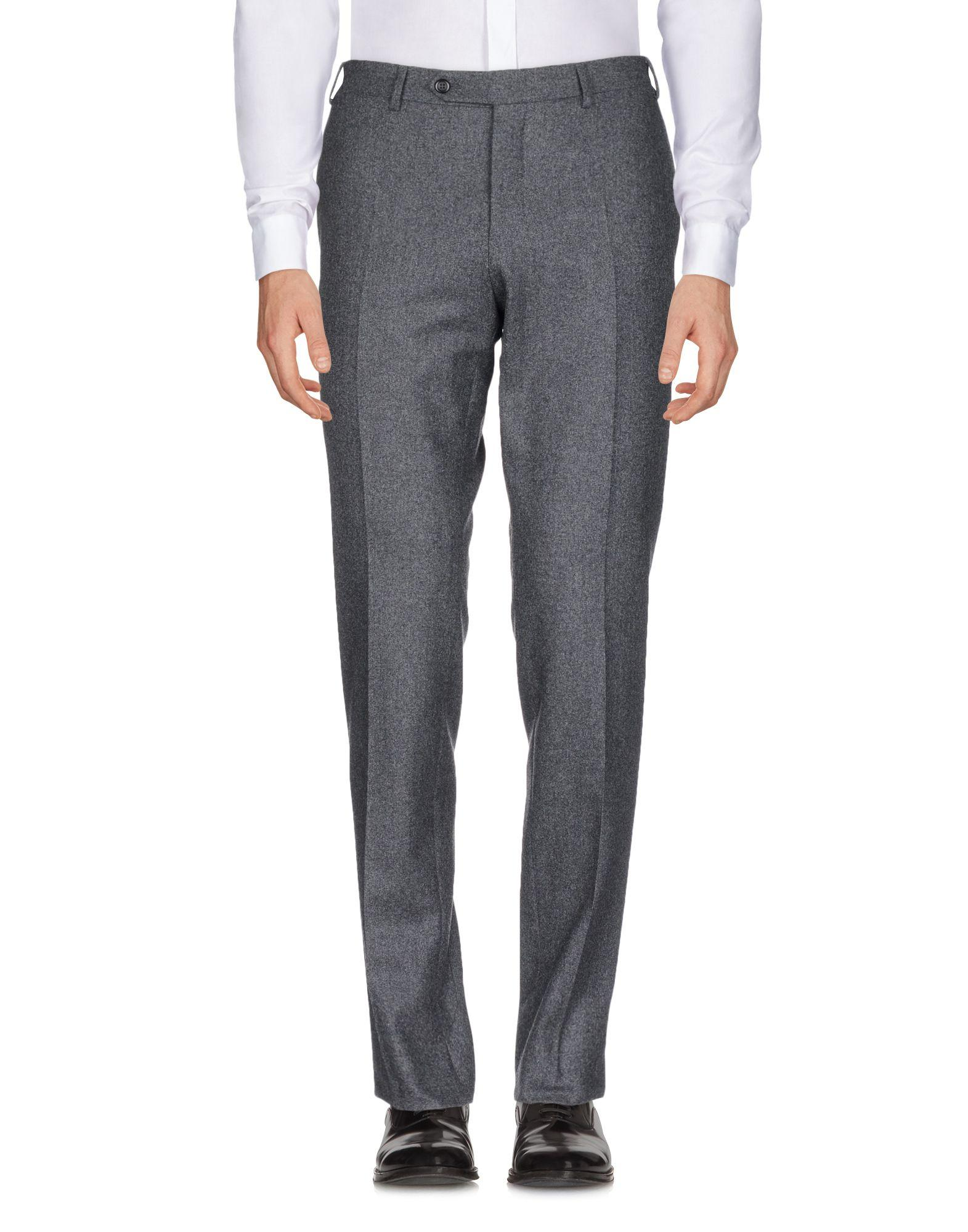 Canali Casual Pants In Grey