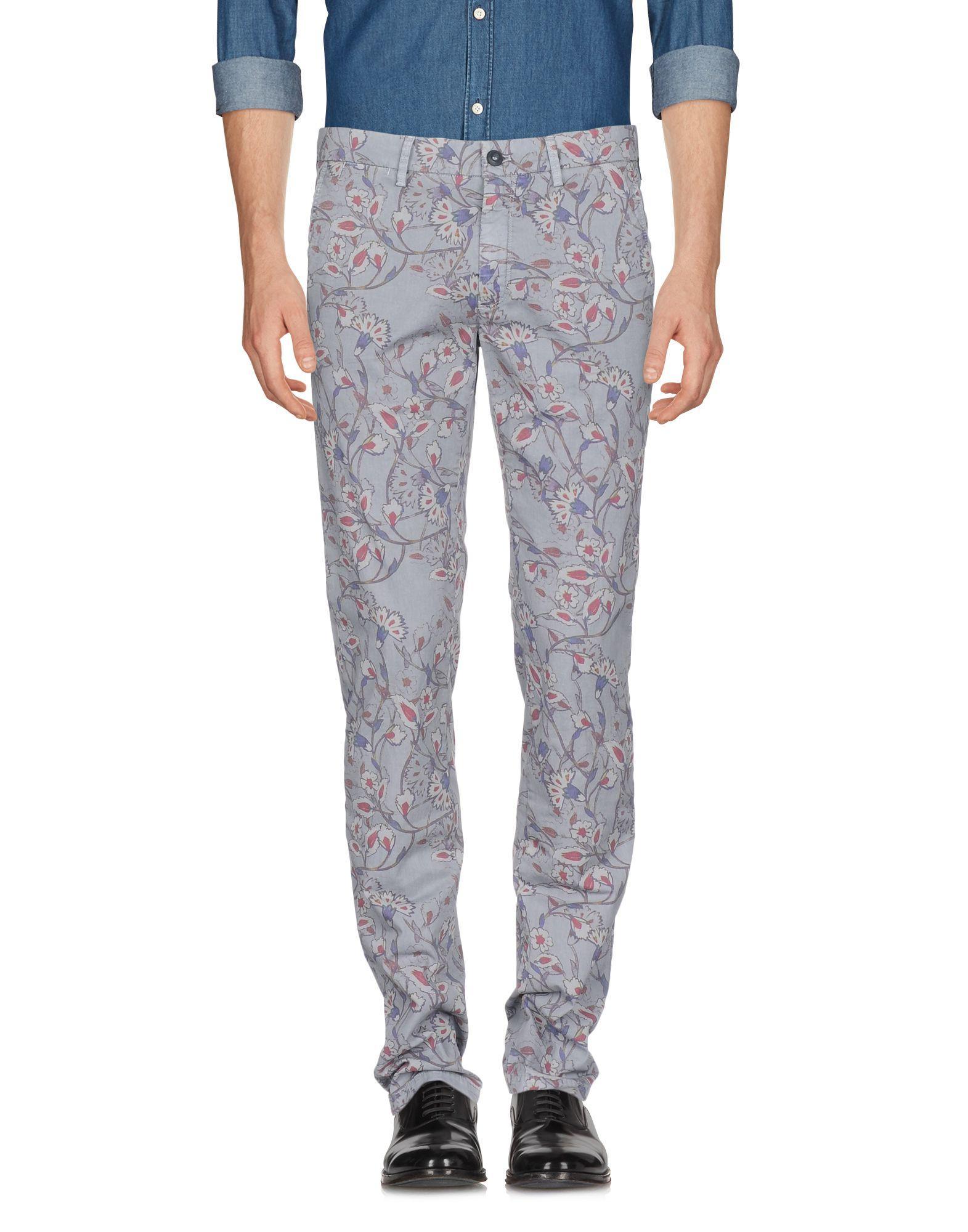 Mason's Casual Pants In Light Grey