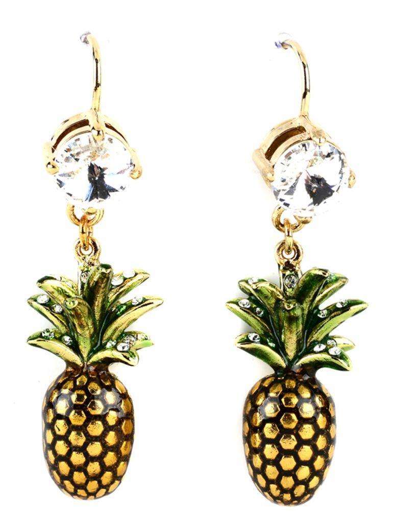 Miu Miu Earrings In Gold