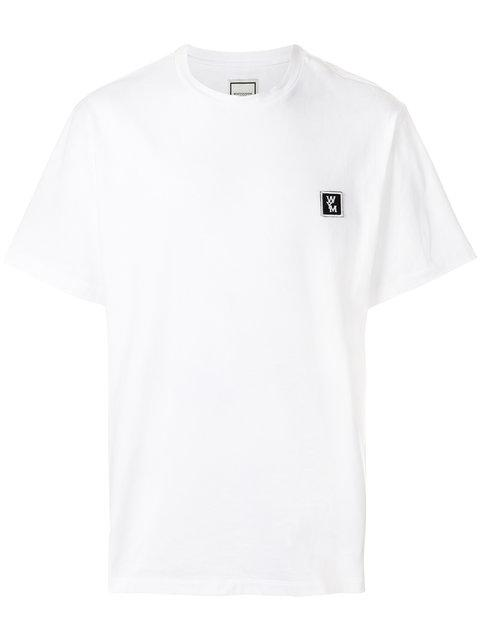 Wooyoungmi Embroidered Logo Patch T-shirt