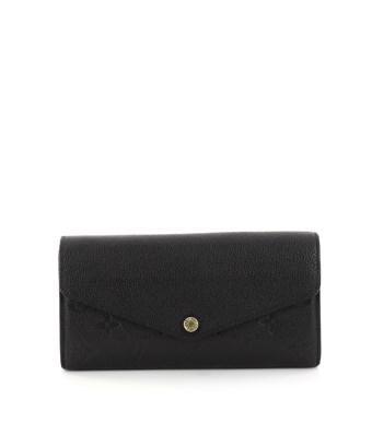 Louis Vuitton Pre-owned: Sarah Wallet Nm Monogram Empreinte Leather In Black