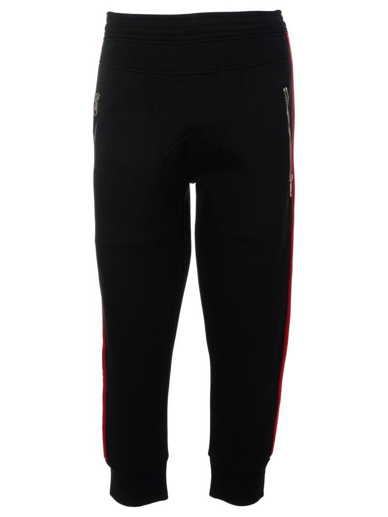 Neil Barrett Striped Track Pants In 1495blackredwhite