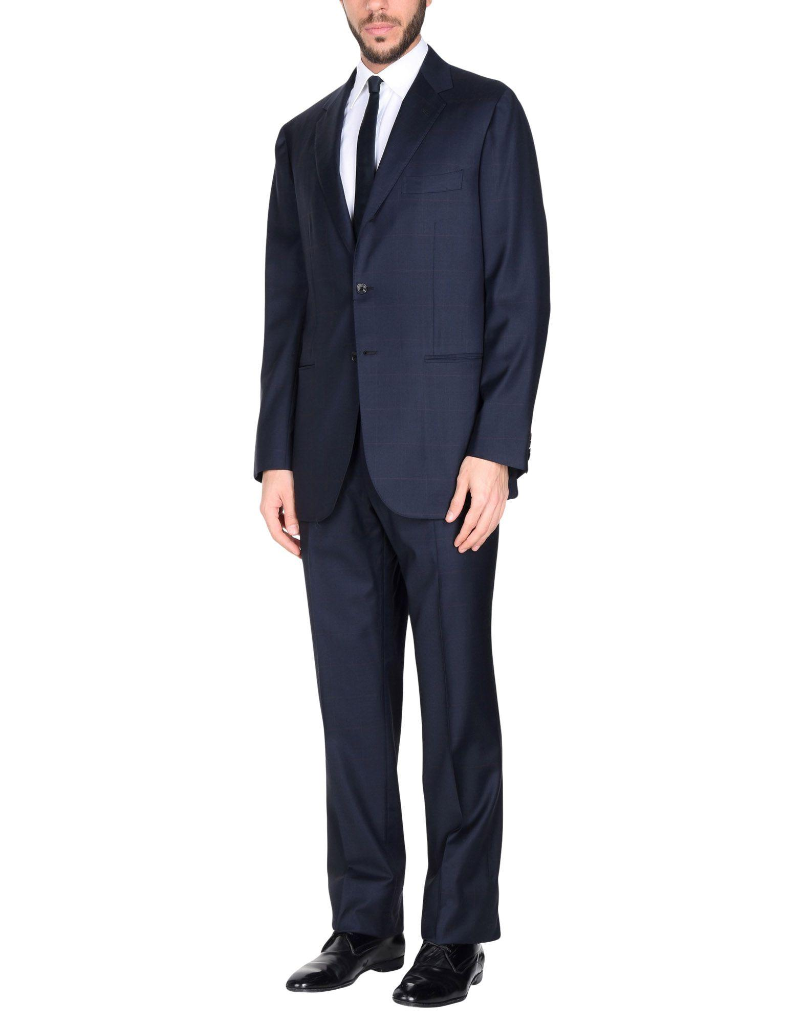 Sartorio Suits In Dark Blue