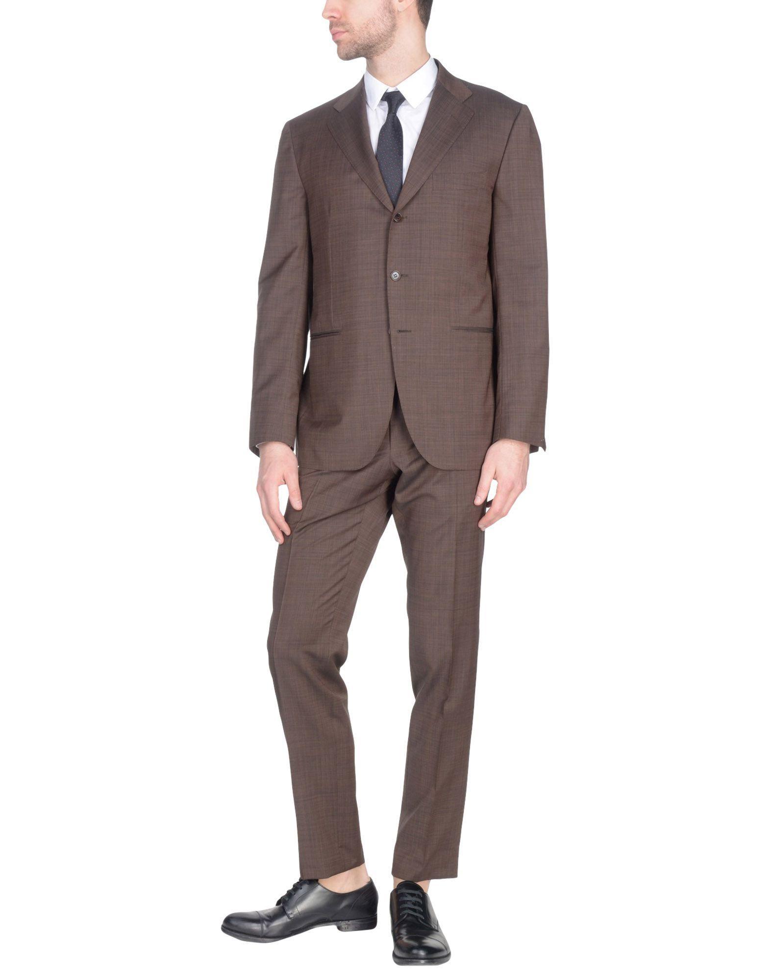 Sartorio Suits In Brown