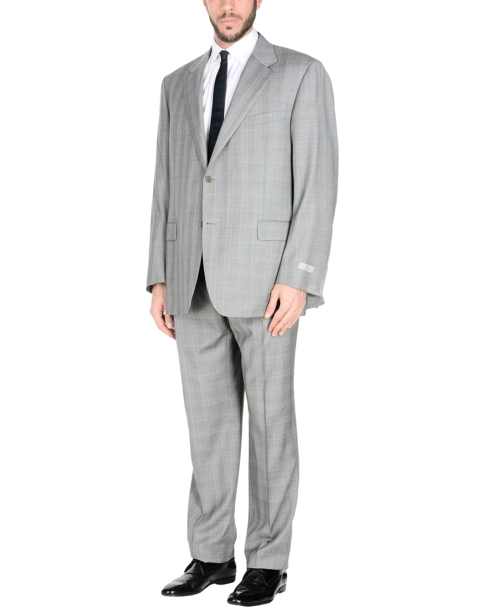 Canali Suits In Grey
