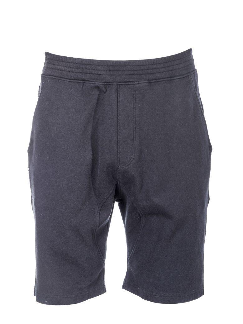 Neil Barrett Crotch Shorts In 01black