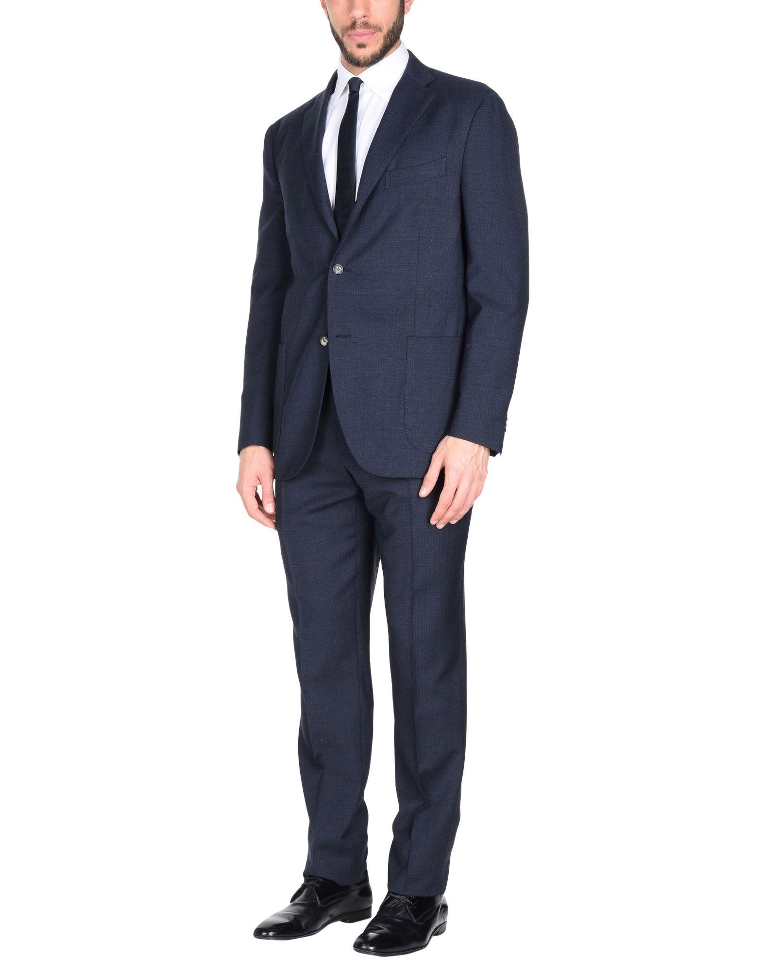Boglioli Suits In Dark Blue