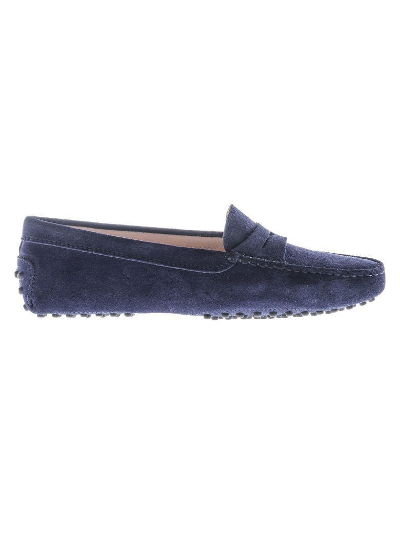 Tod's Gommino Loafers In Blue