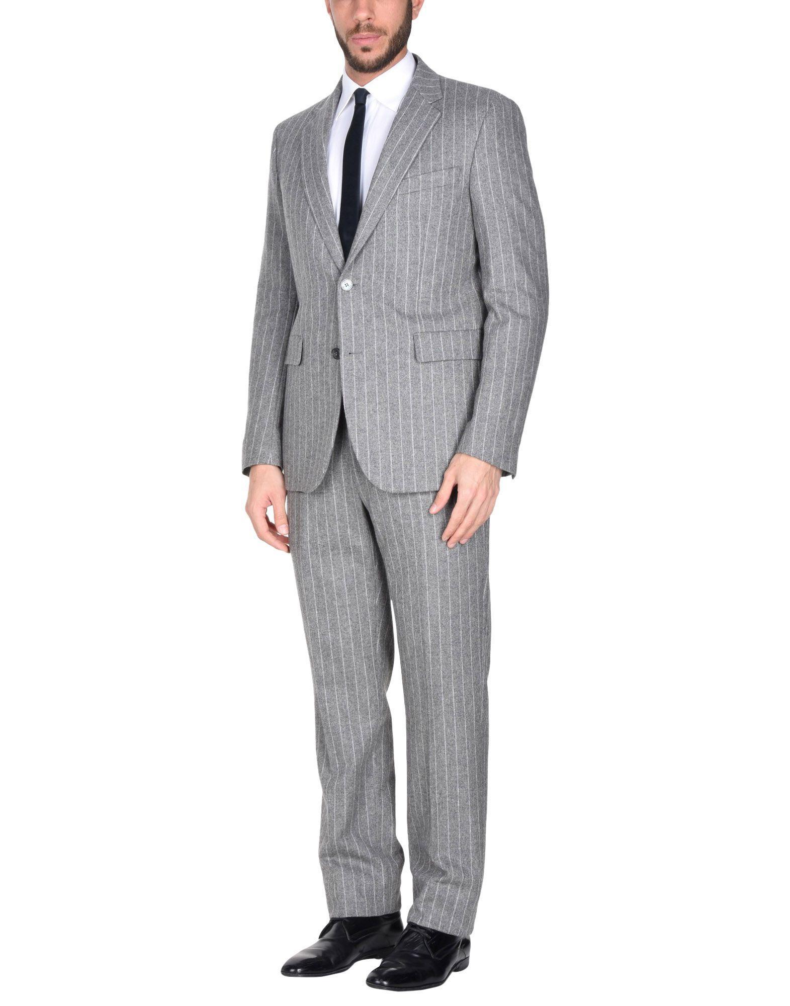 Manuel Ritz Suits In Light Grey