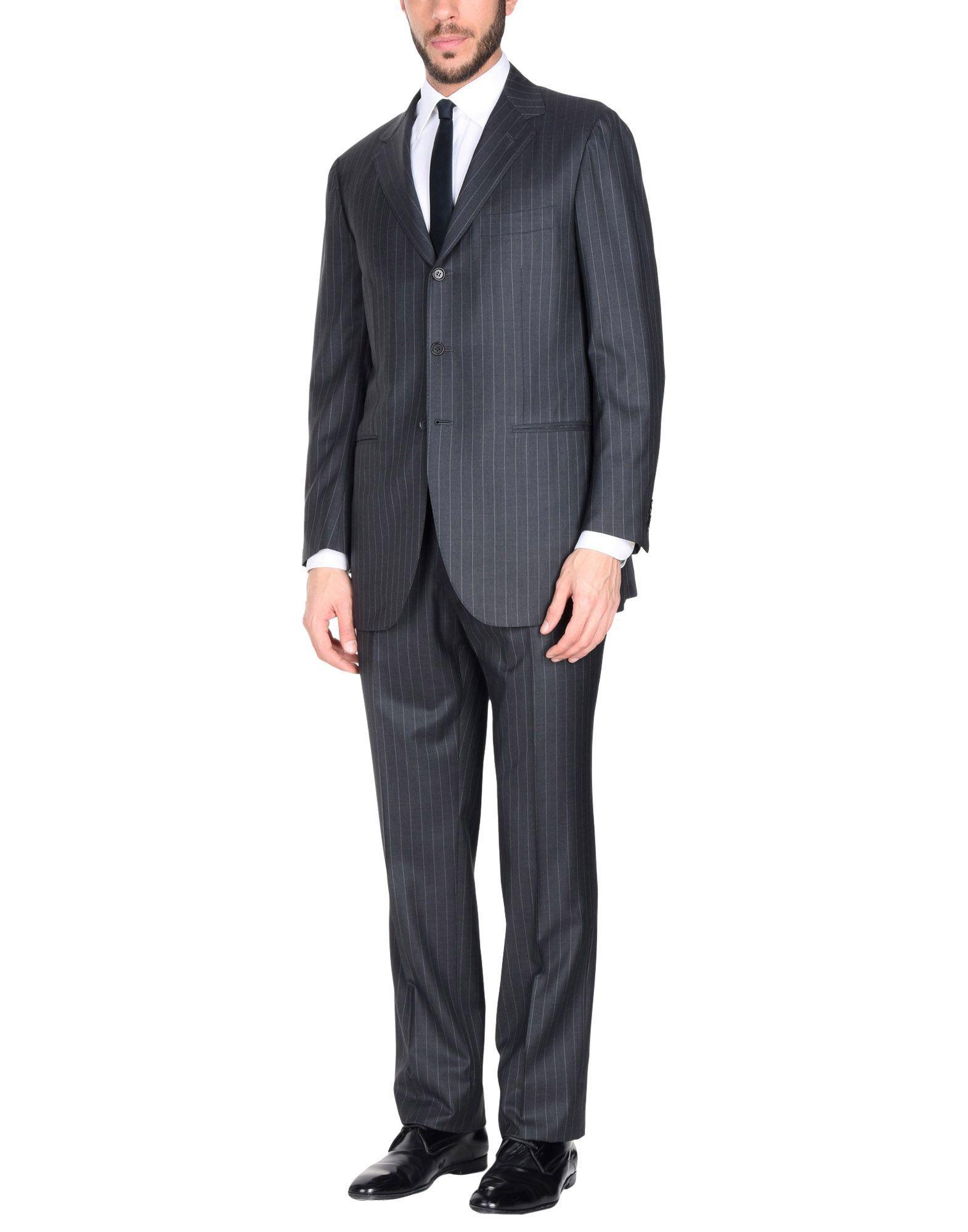 Manuel Ritz Suits In Steel Grey