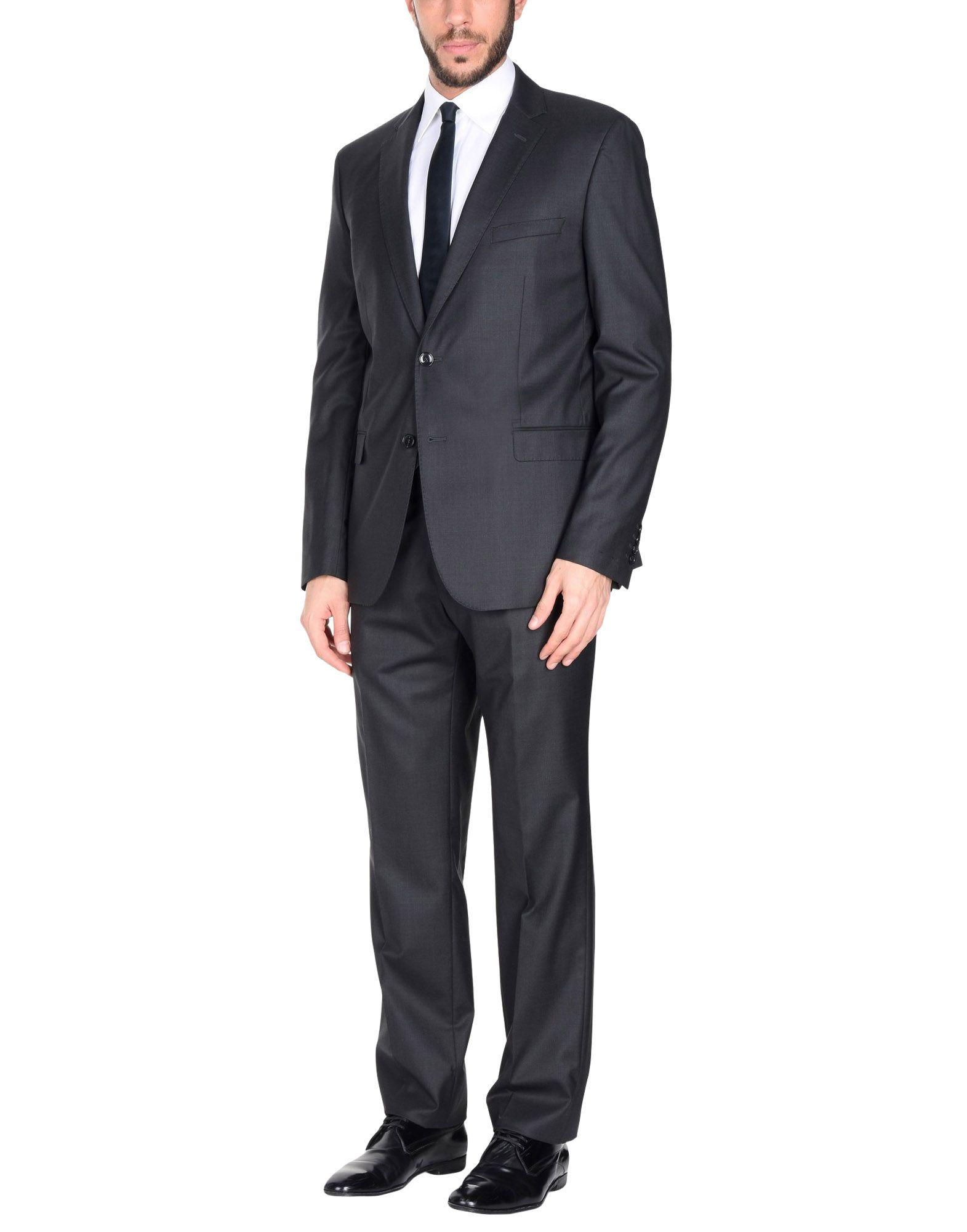 Paoloni Suits In Steel Grey