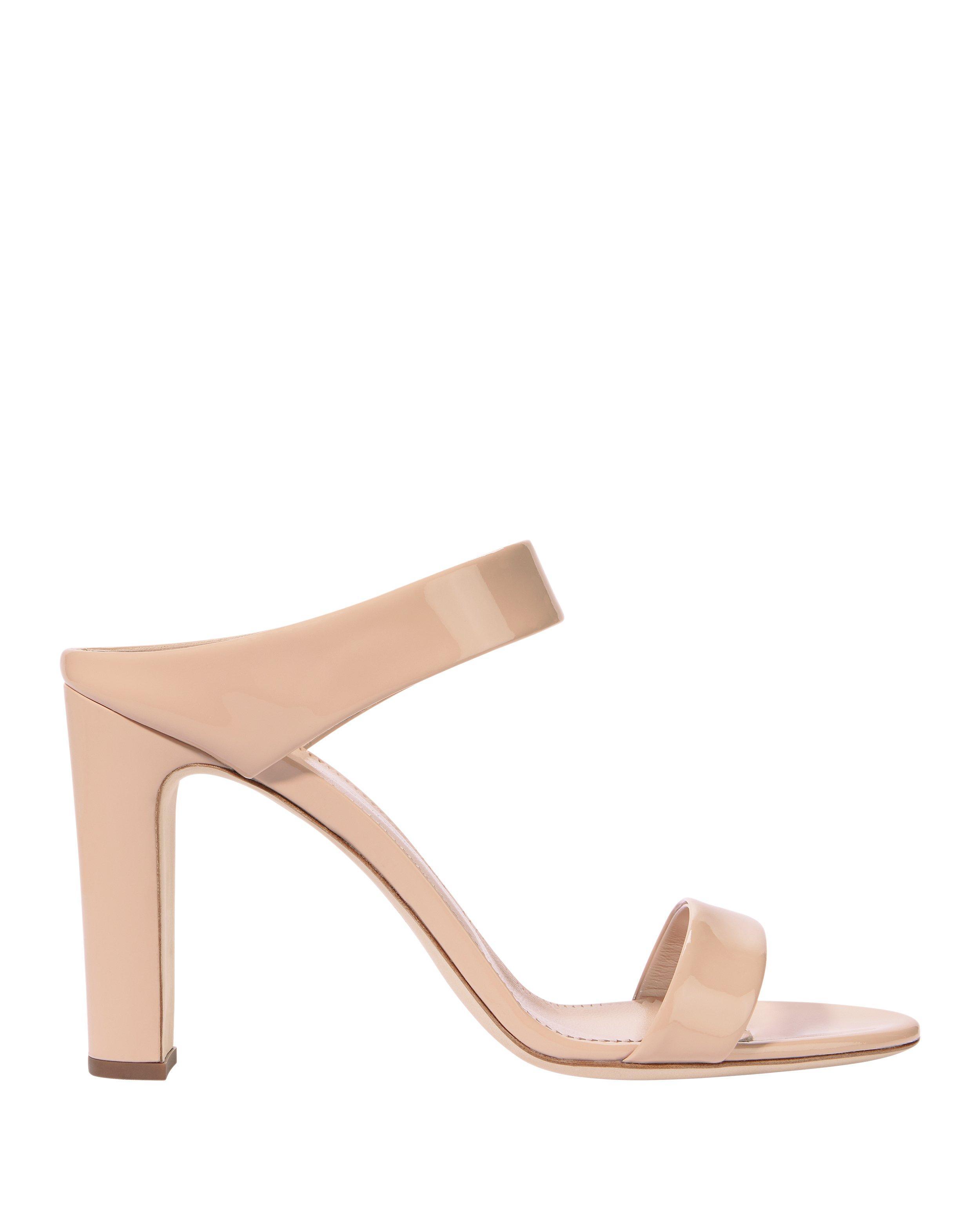 Giuseppe Zanotti Alien Double Strap Nude High Sandals