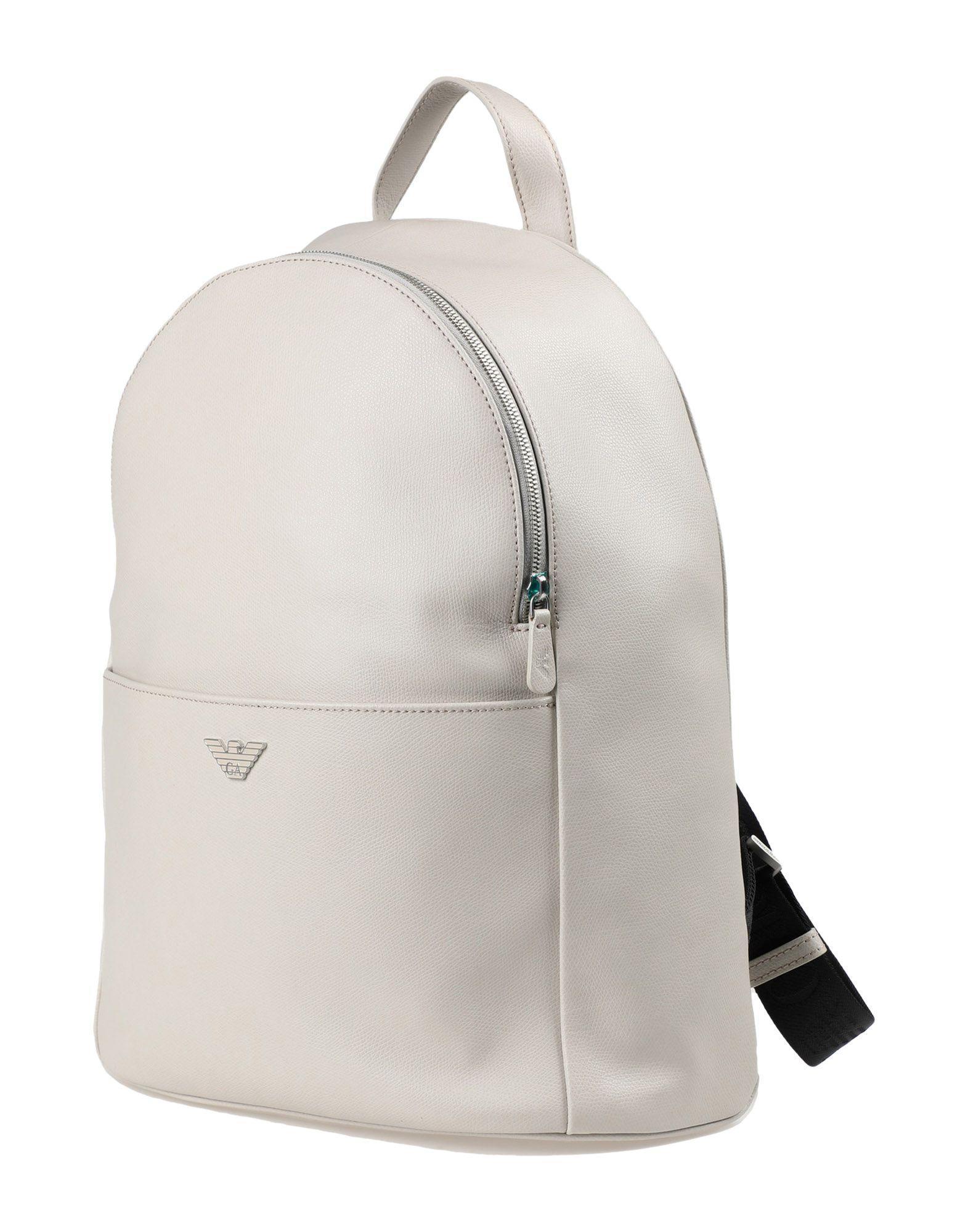 Emporio Armani Backpacks & Fanny Packs In Light Grey
