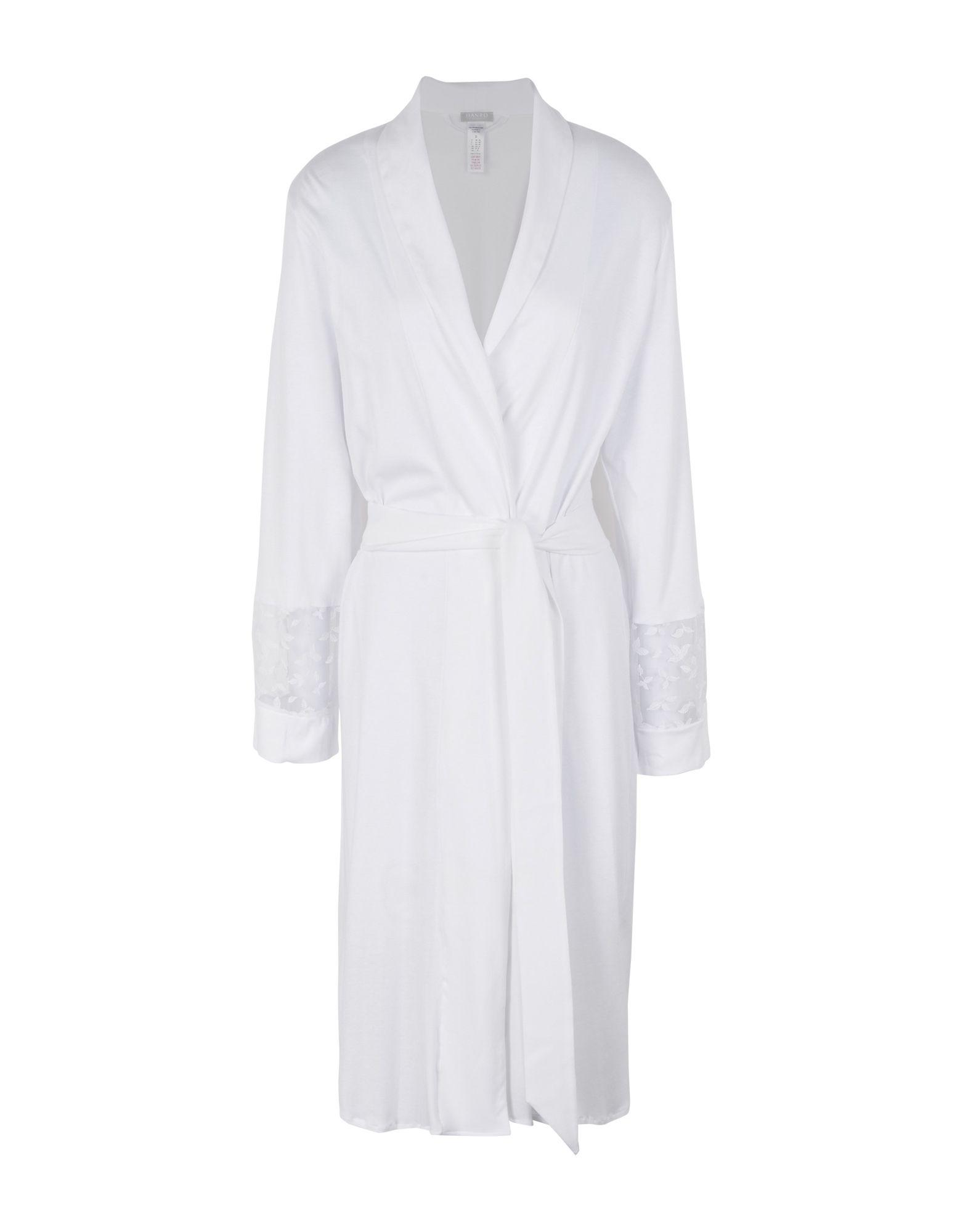 Hanro Robes In White