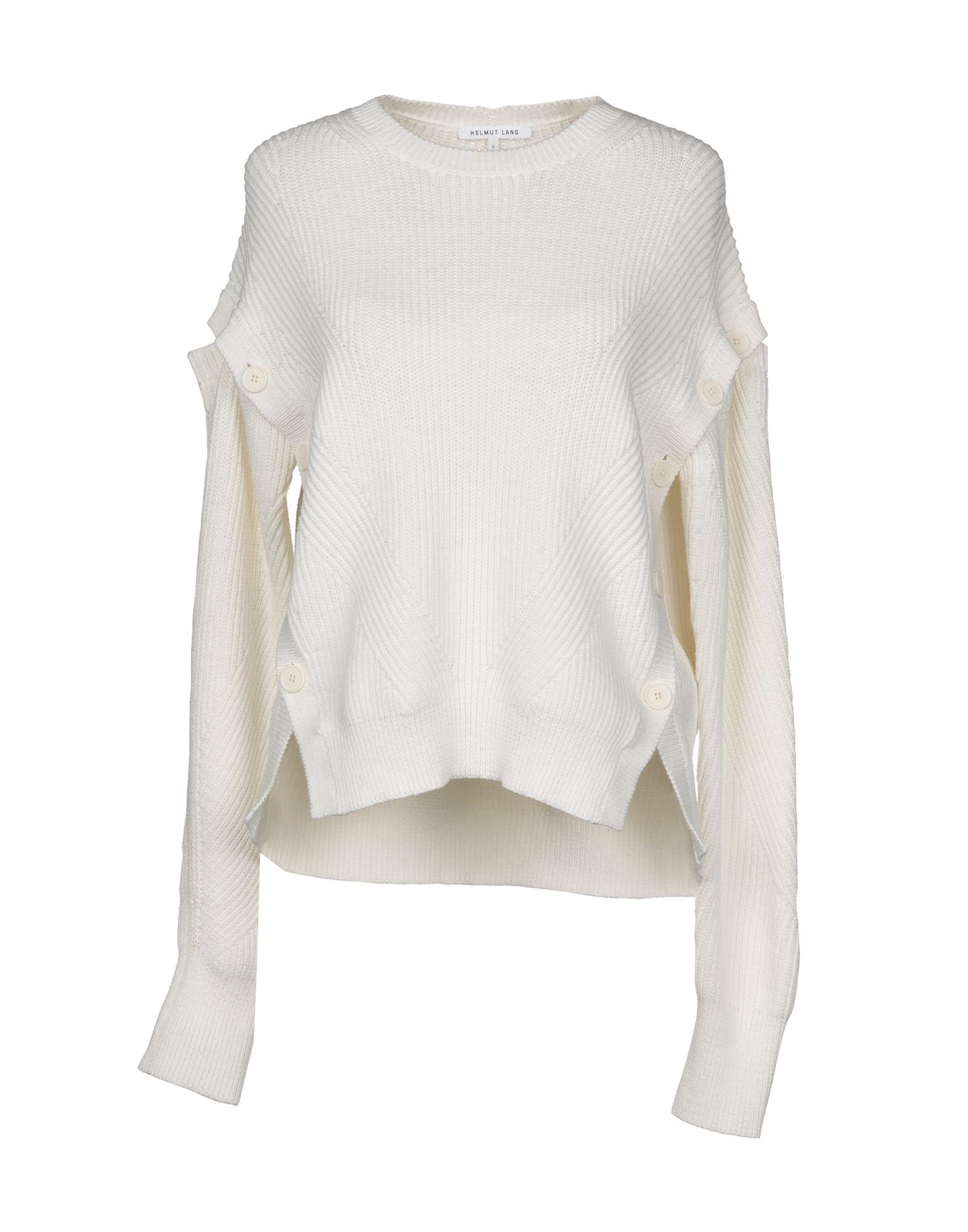 Helmut Lang Sweater In White