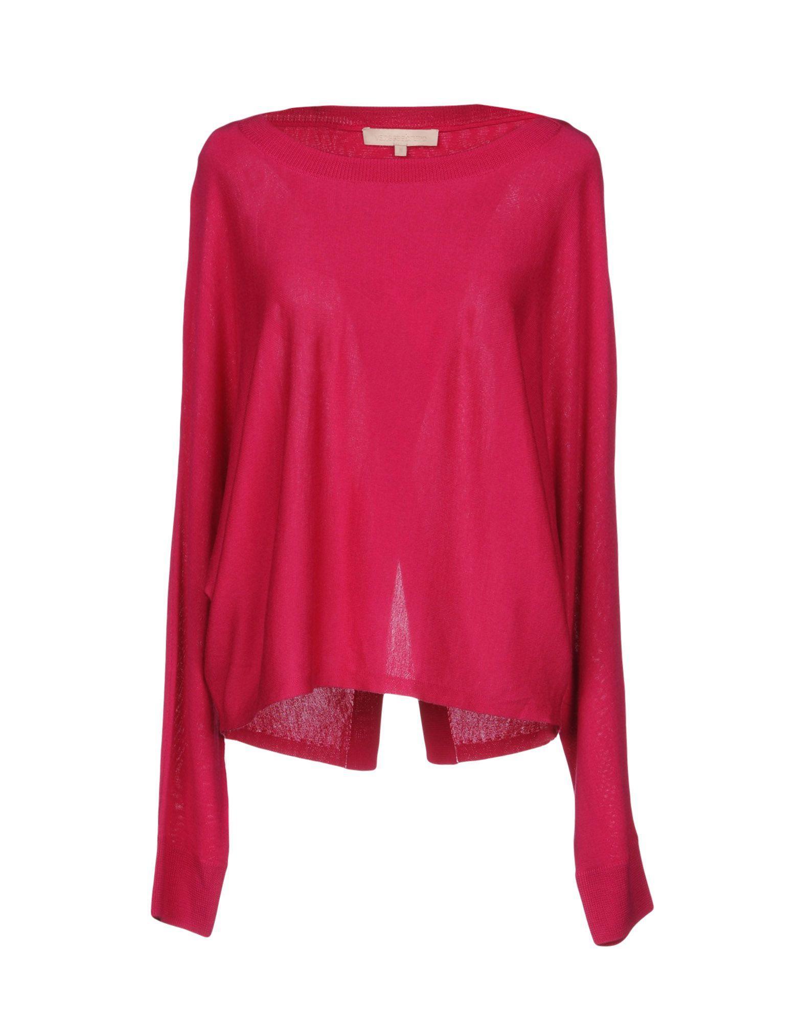 Vanessa Bruno Sweaters In Fuchsia