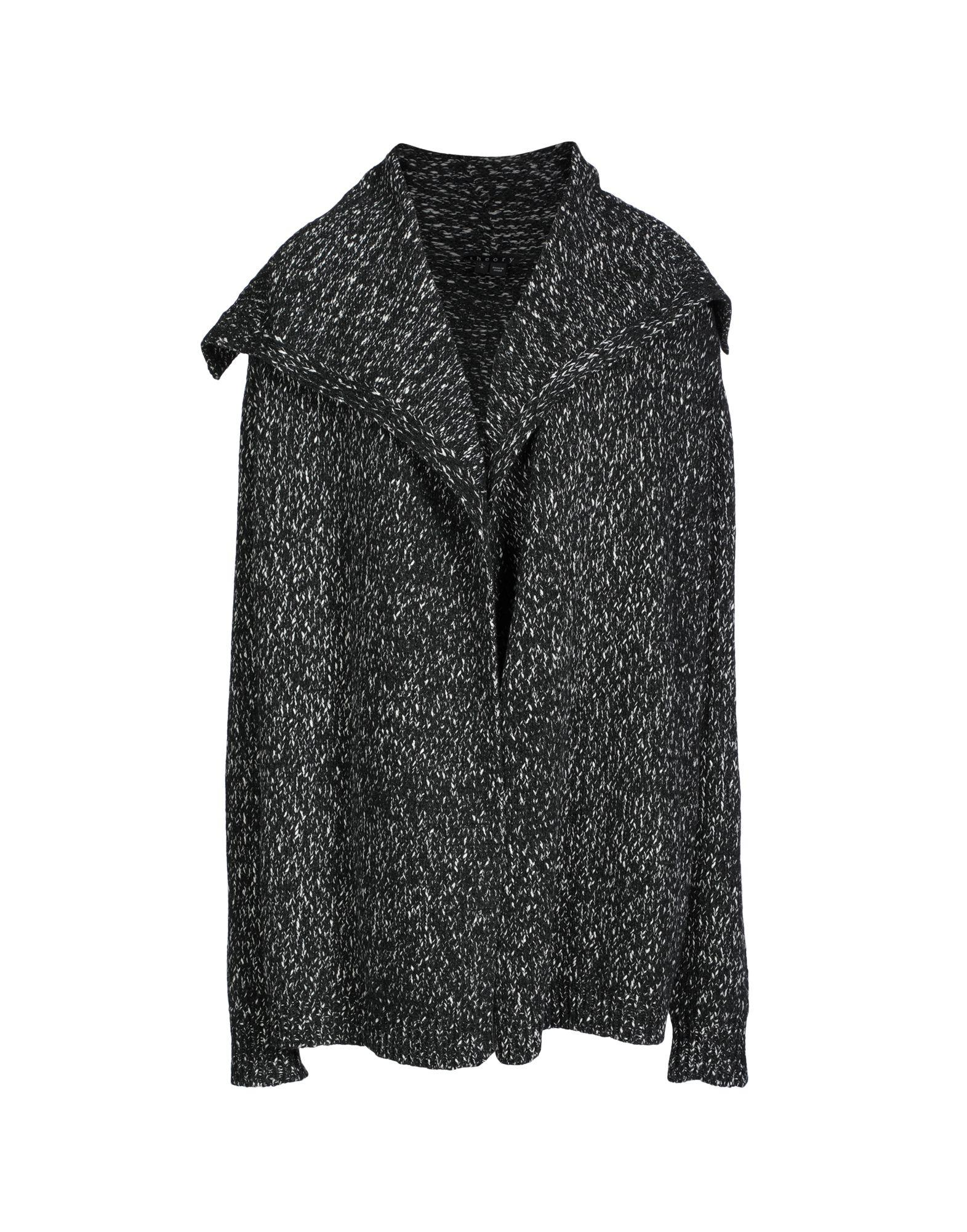 Theory Cardigan In Lead