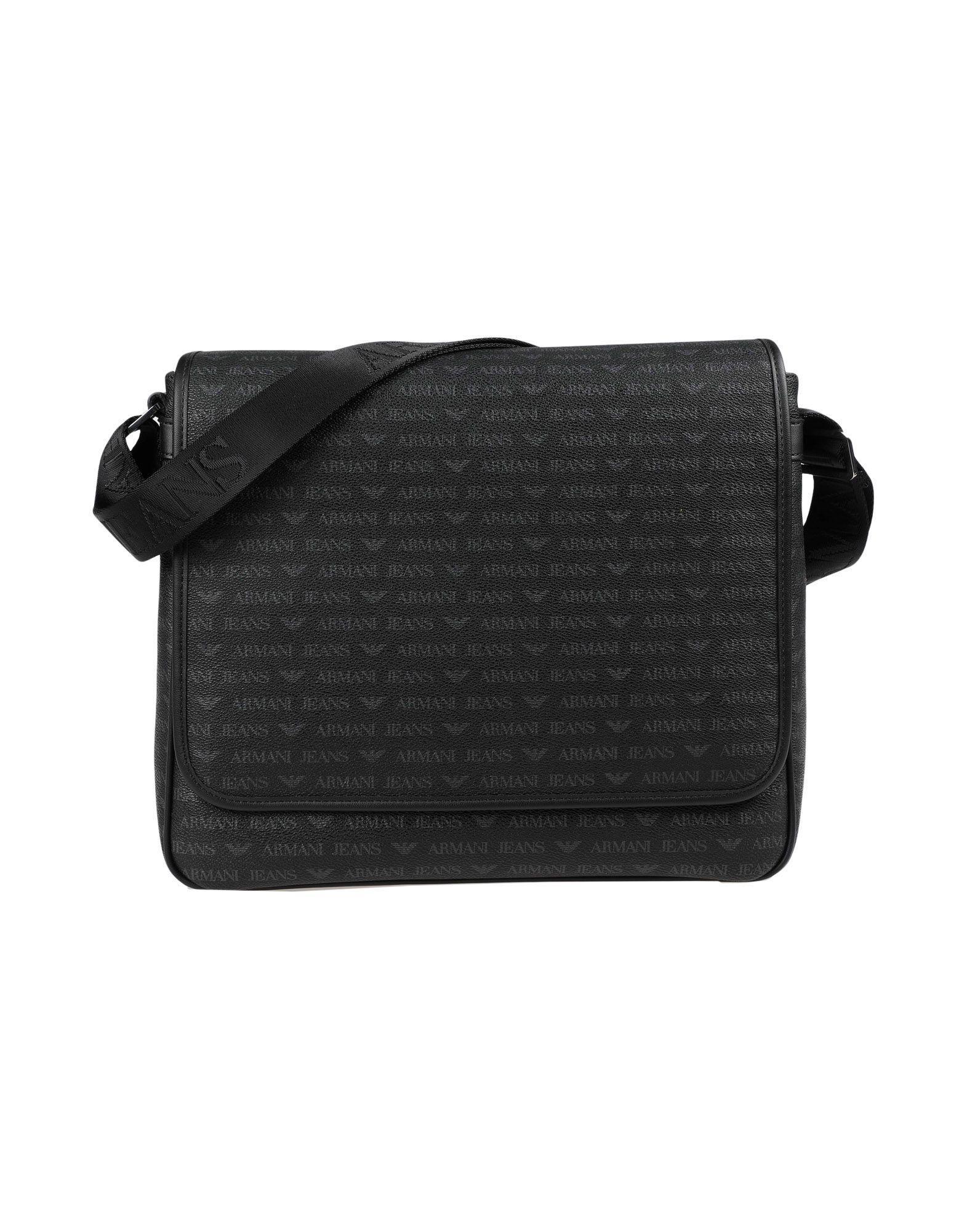 Armani Jeans Work Bags In Black