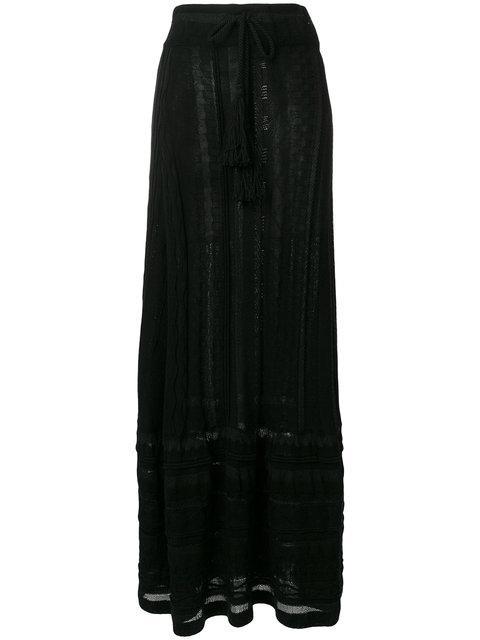 Laneus Tassel Waist Skirt