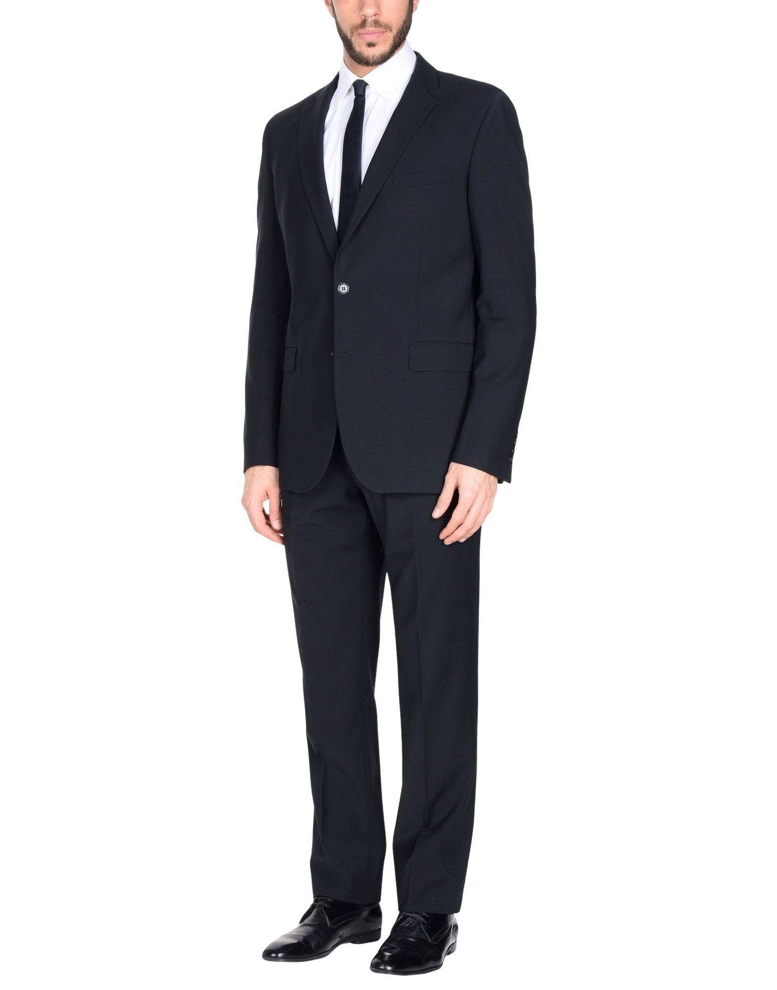 Paoloni Suits In Dark Blue