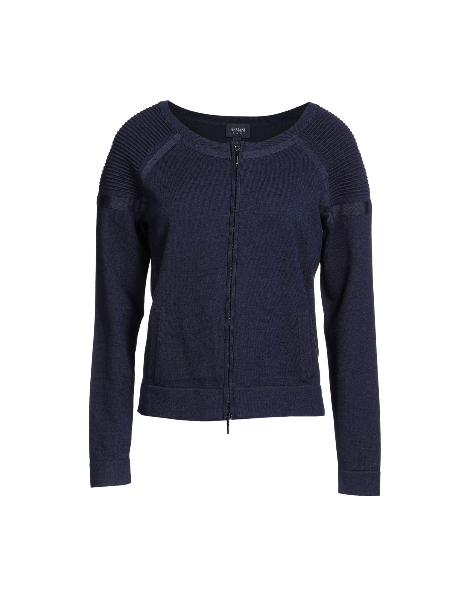 Armani Jeans Cardigan In Dark Blue