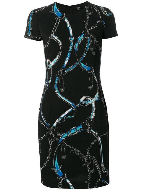 Versus Printed Fitted Dress