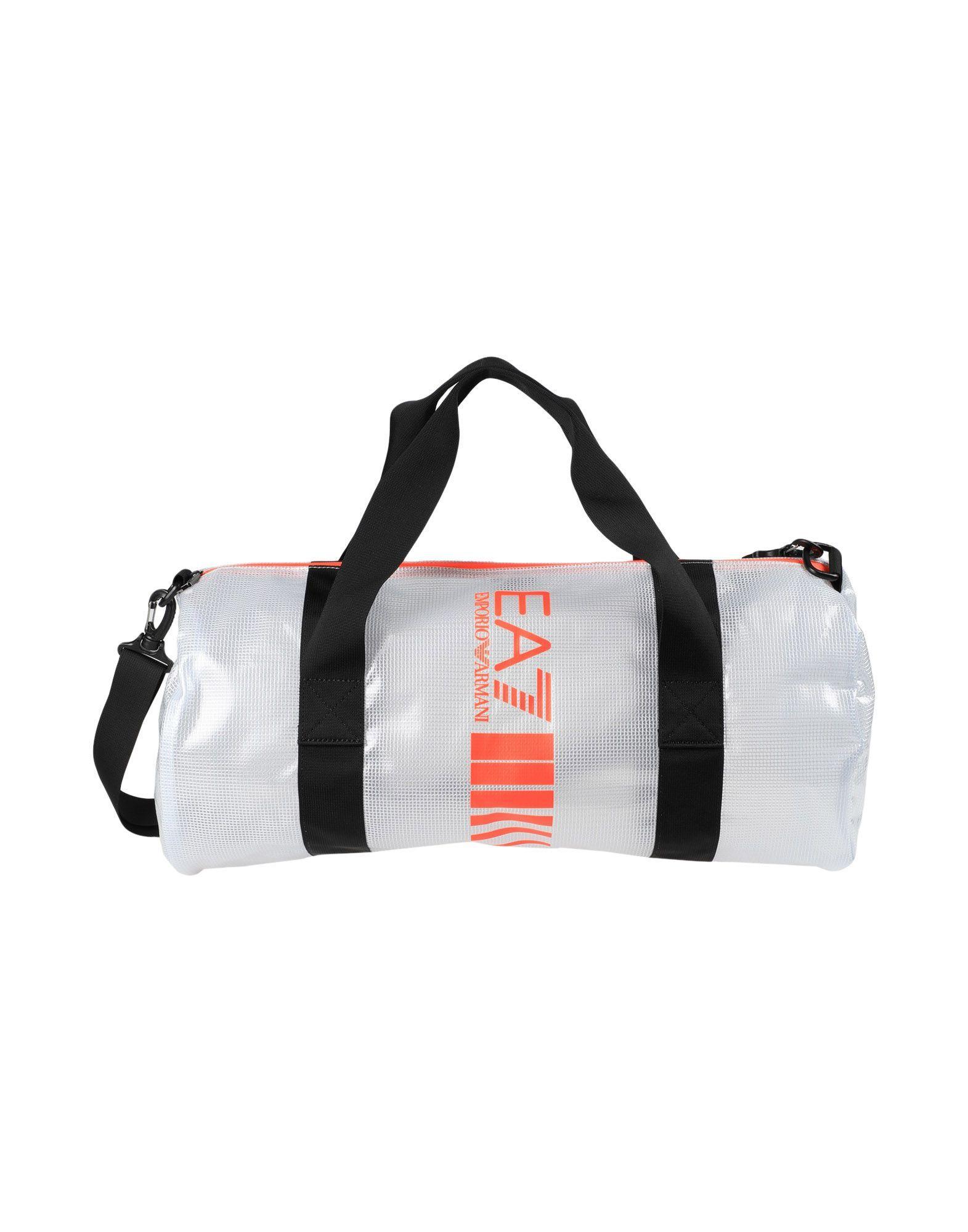 Ea7 Travel & Duffel Bags In Transparent