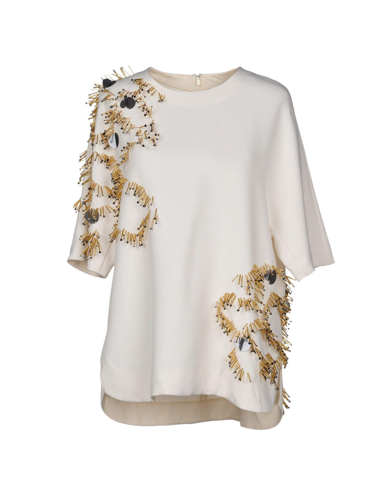 By Malene Birger Blouses In Ivory