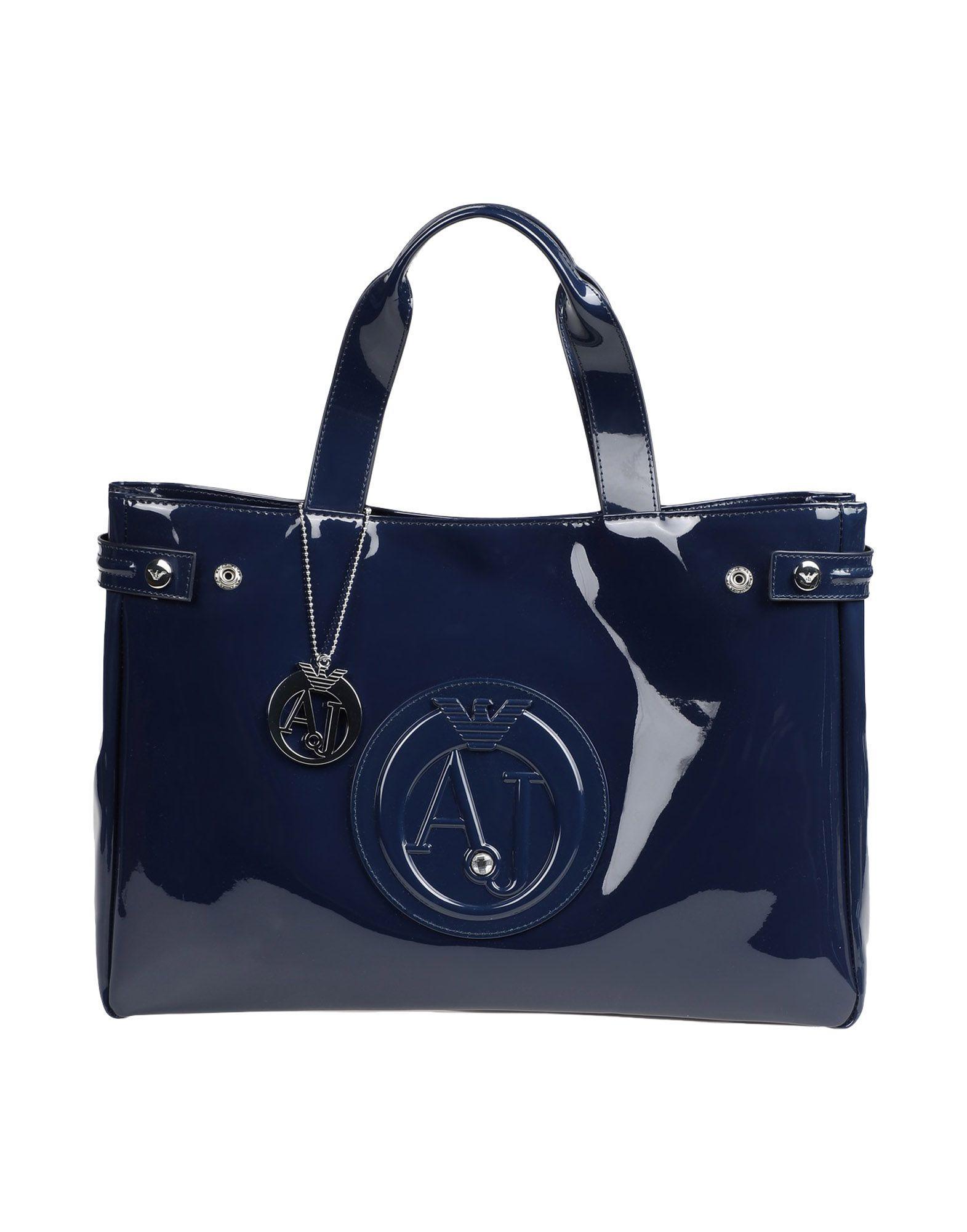 Armani Jeans Handbags In Dark Blue