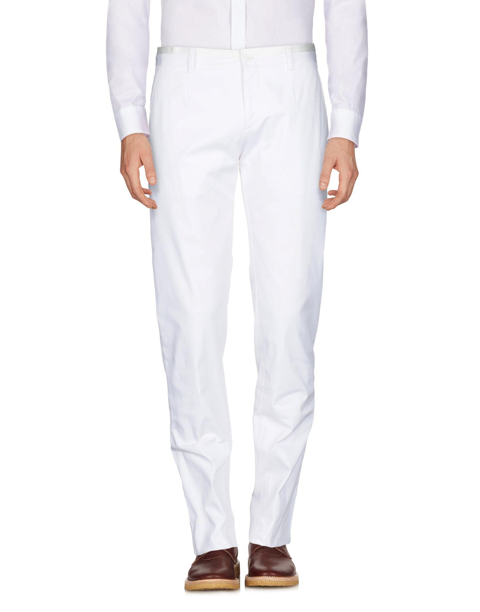 Bikkembergs Casual Pants In White