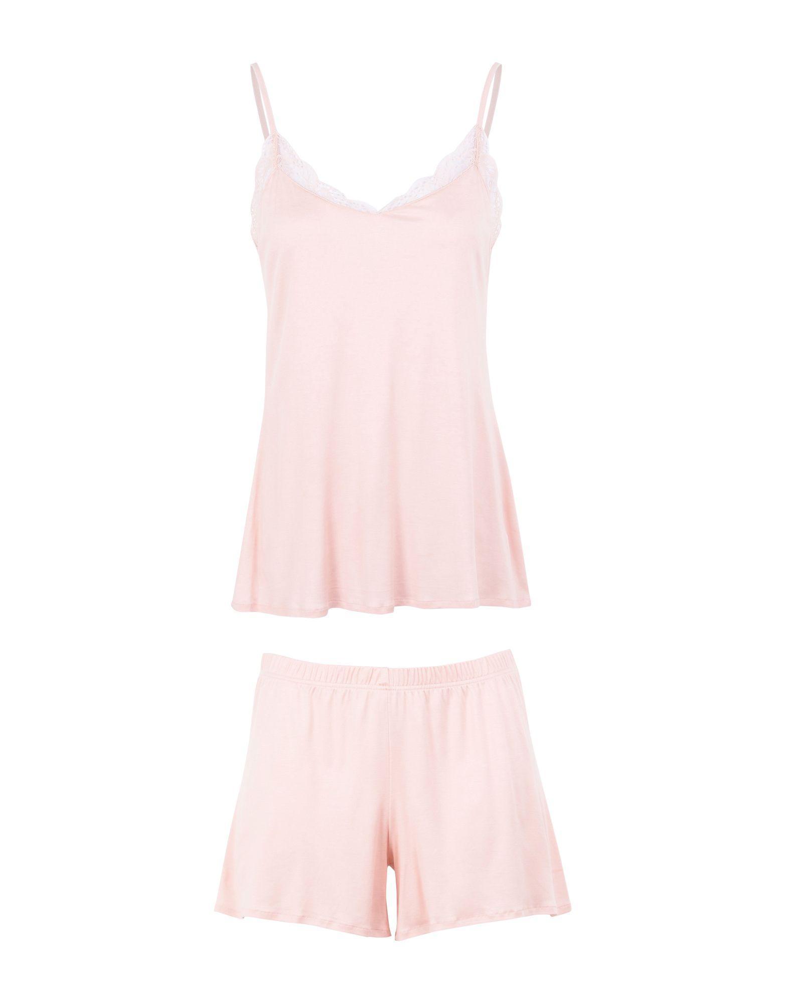 Hanro Sleepwear In Light Pink