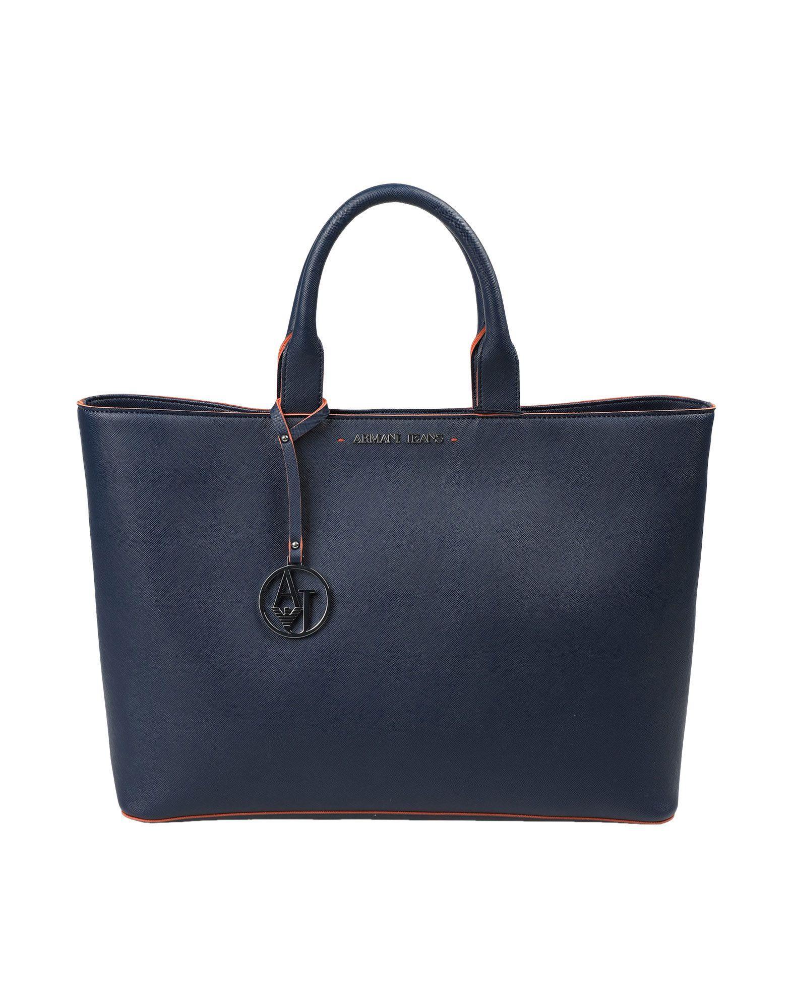 Armani Jeans Handbag In Blue