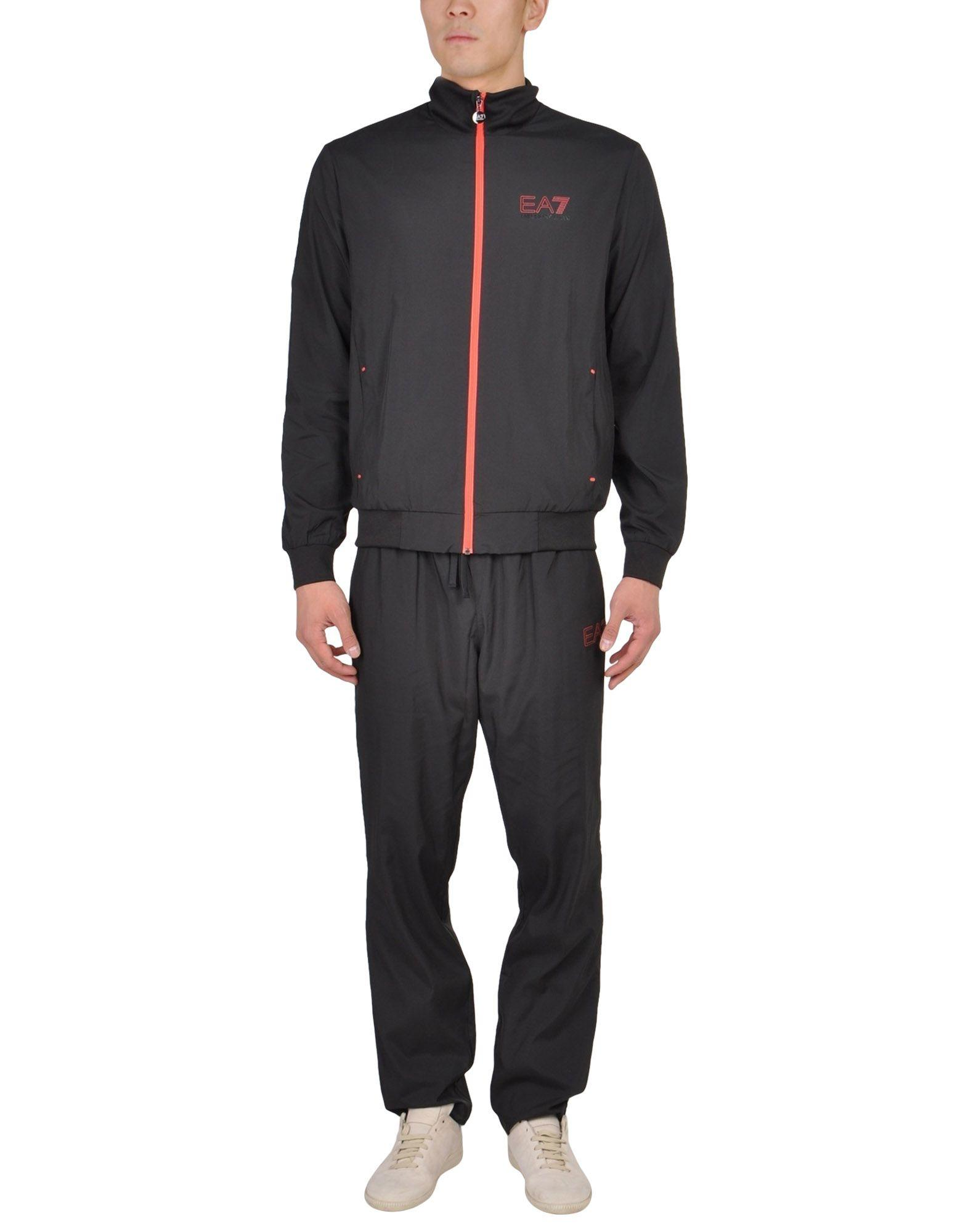 Ea7 Sweatsuit In Black