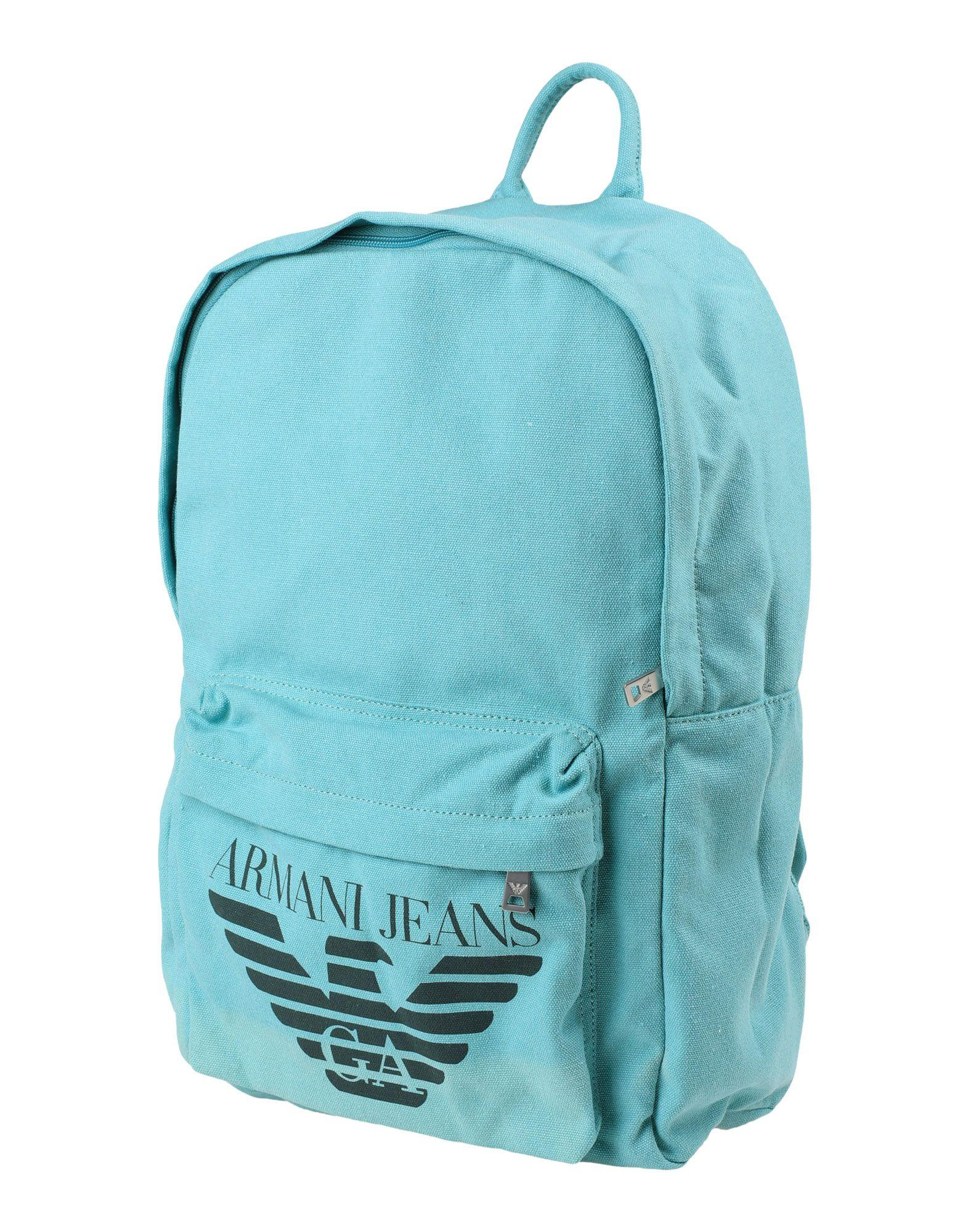 Armani Jeans Backpacks & Fanny Packs In Light Green