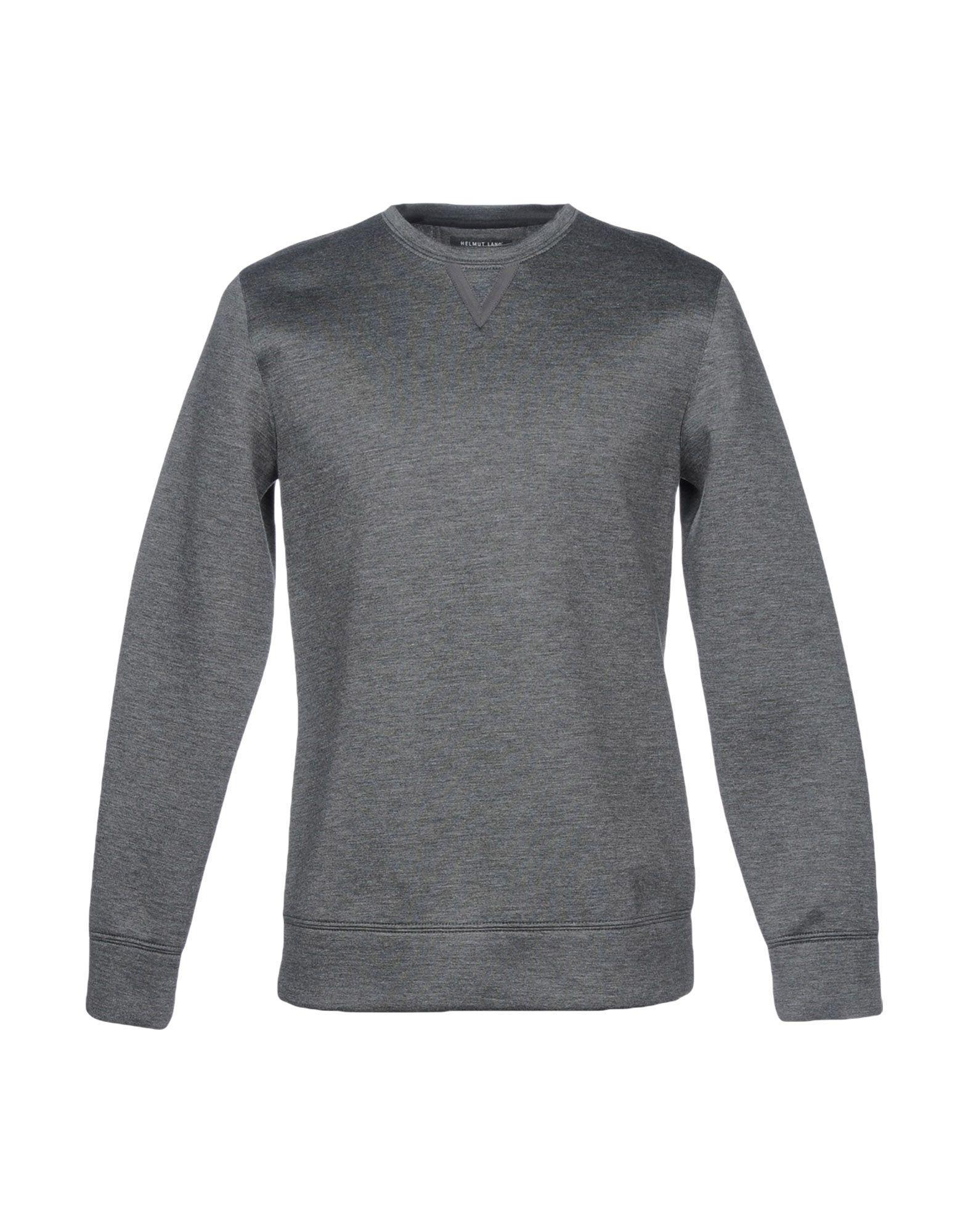 Helmut Lang Sweatshirt In Lead