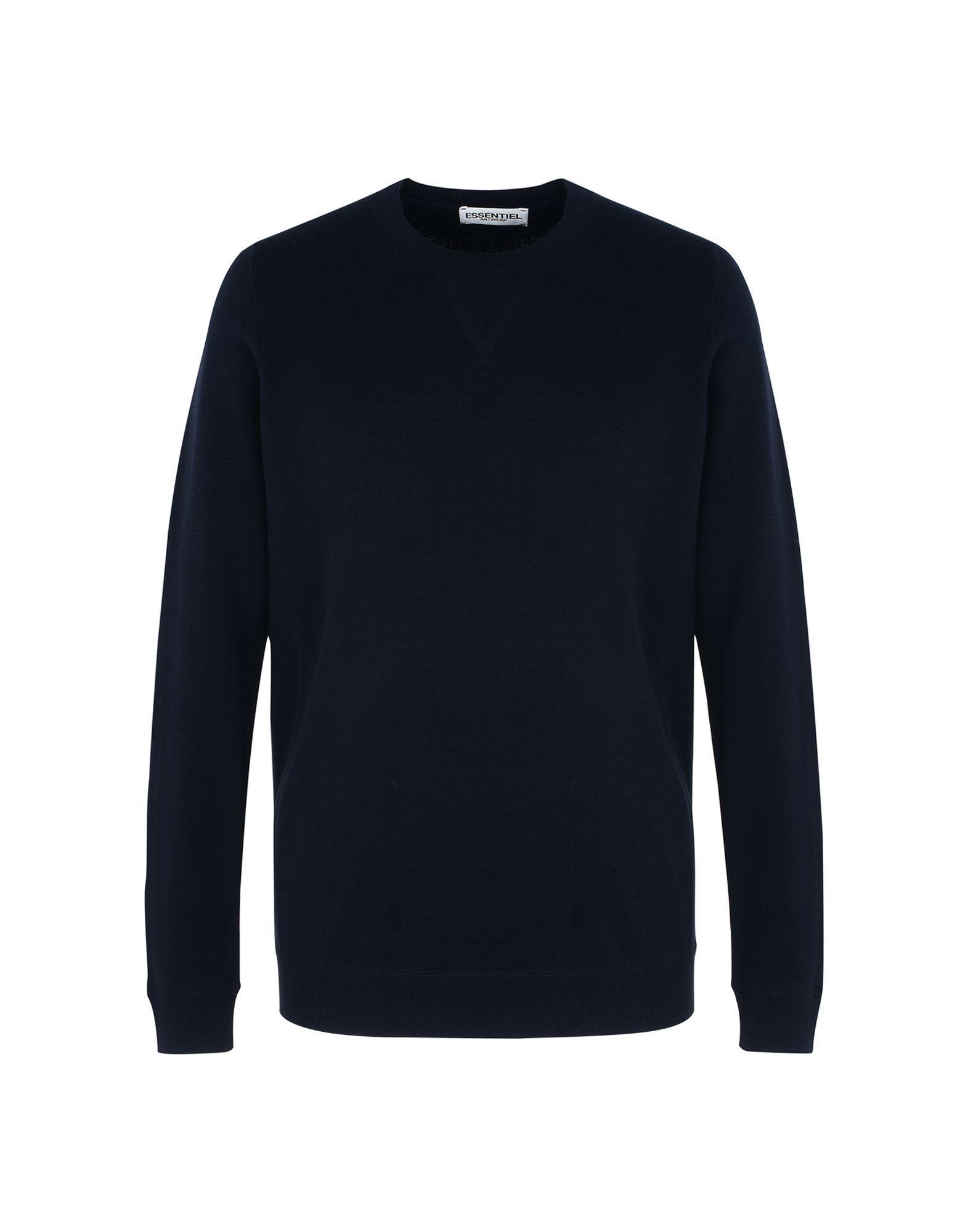 Essentiel Antwerp Sweater In Dark Blue