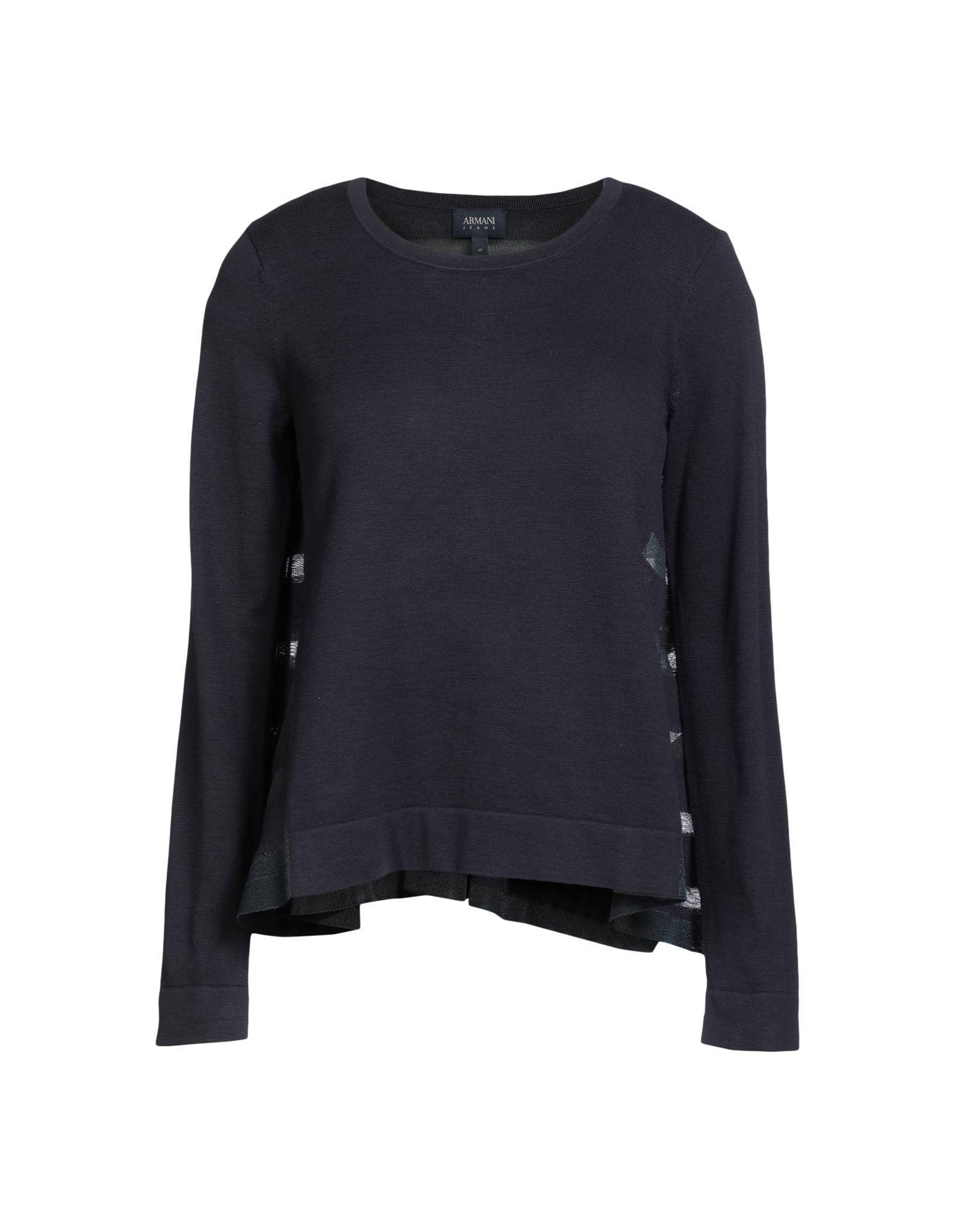 Armani Jeans Sweater In Dark Blue