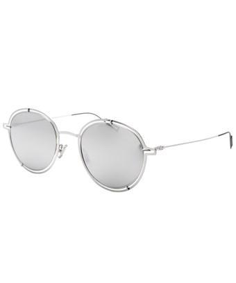 Dior 0210s 010 Dc Palladium Round Sunglasses