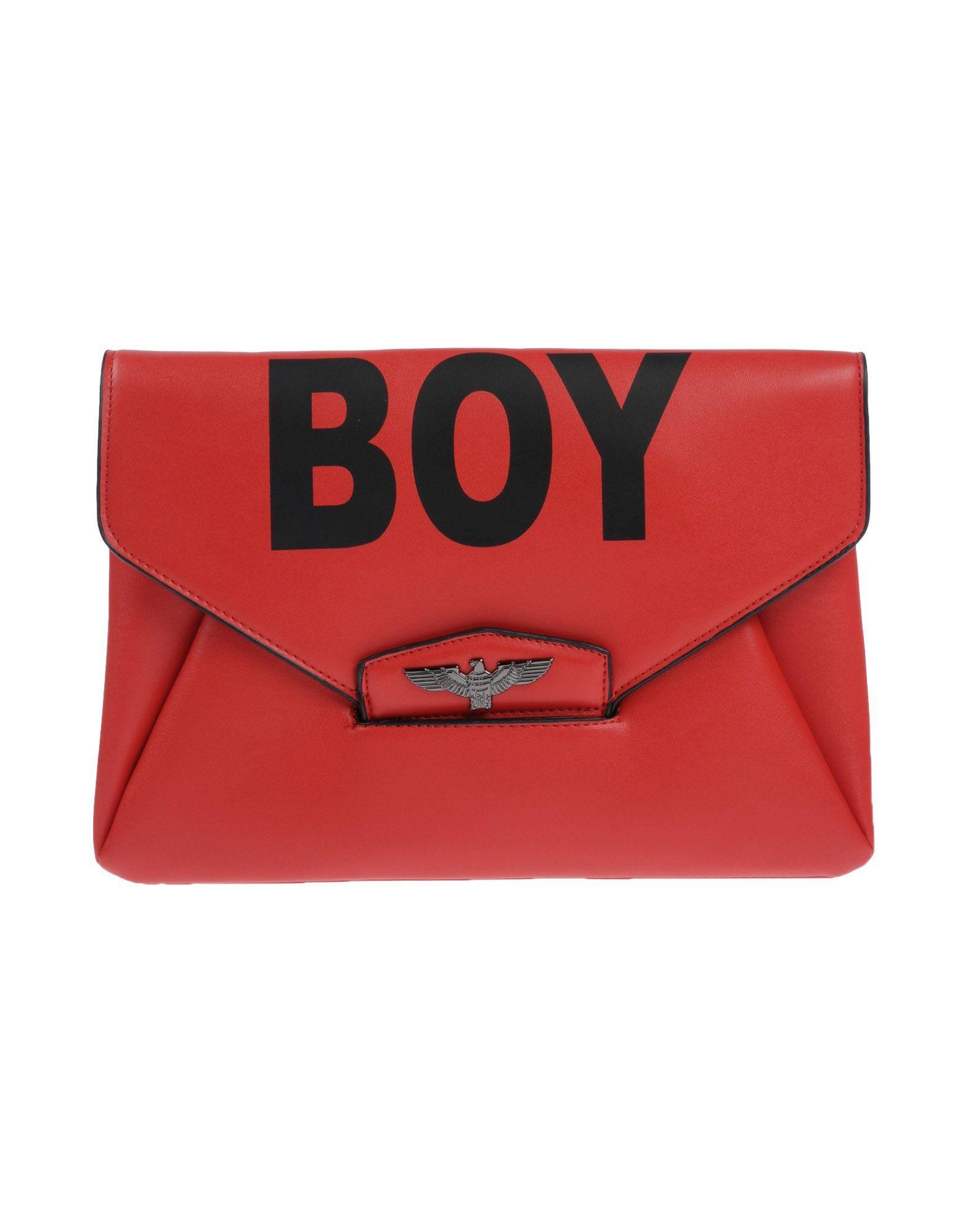 Boy London Handbags In Red