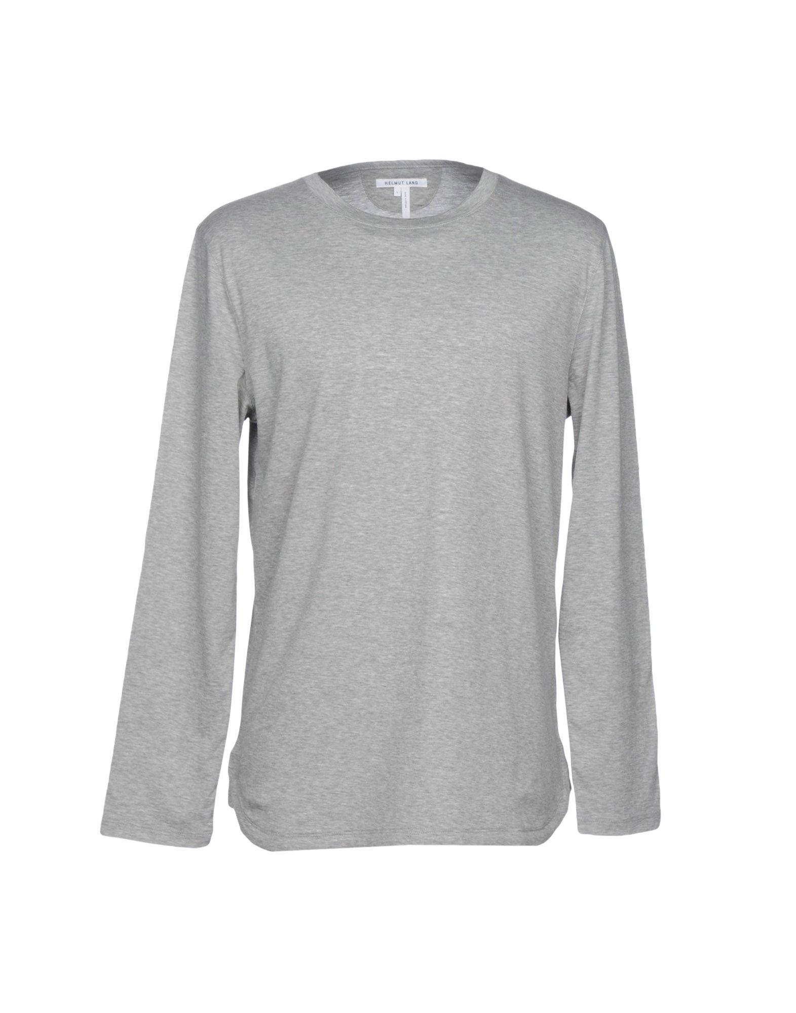 Helmut Lang T-shirt In Light Grey